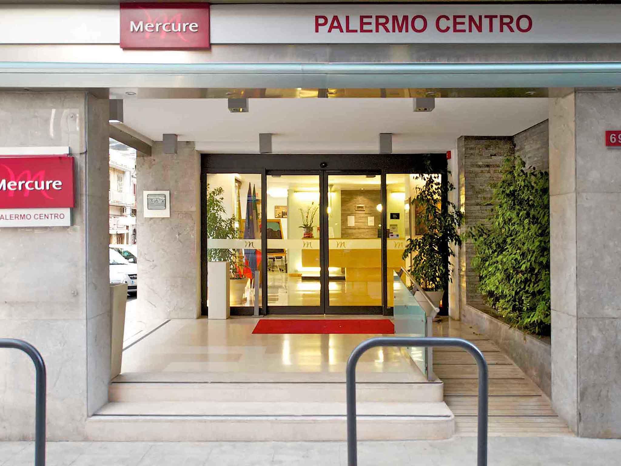 Отель — Mercure Palermo Centro