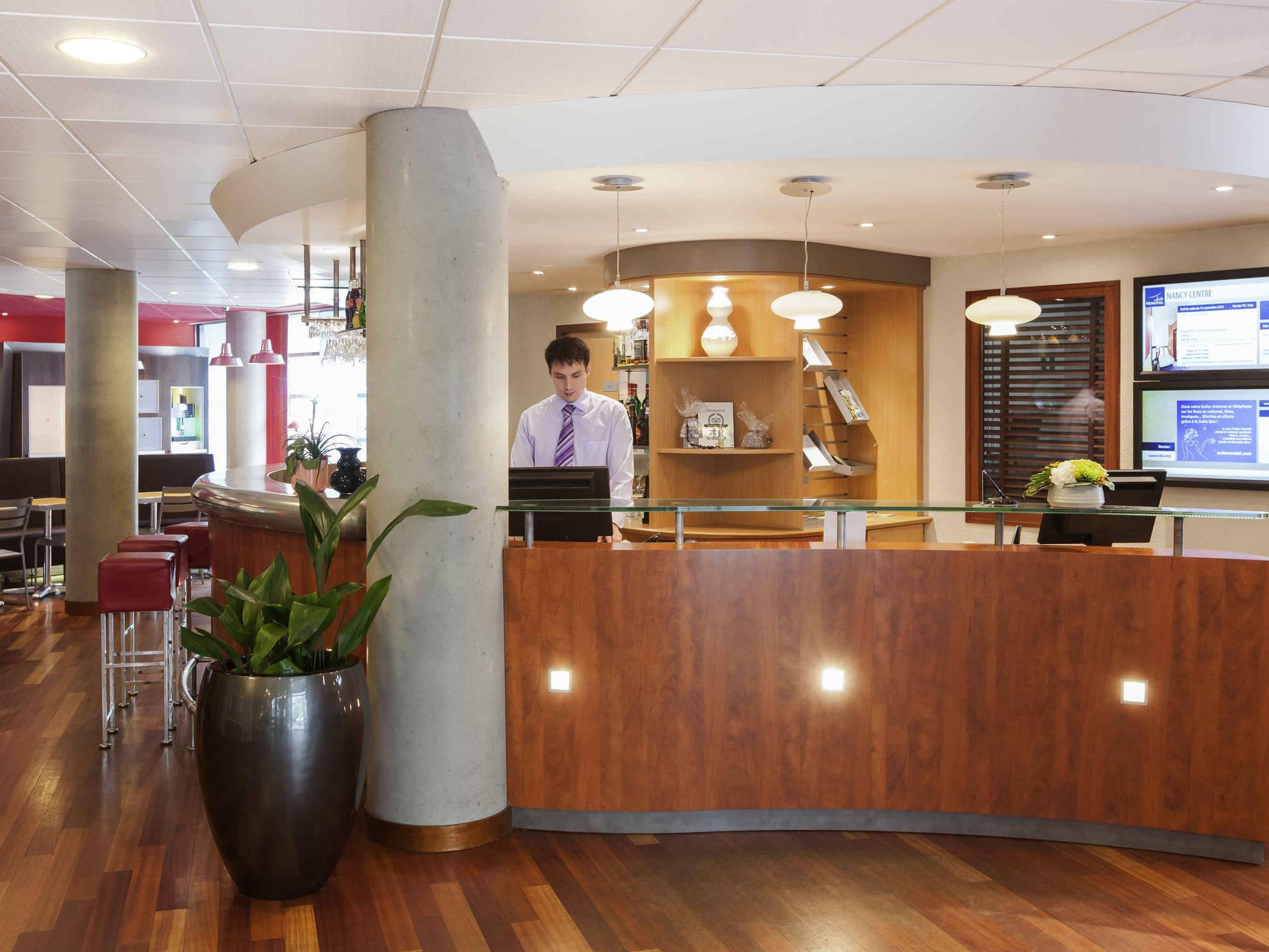 Hotel in nancy novotel suites nancy centre for Hotels nancy