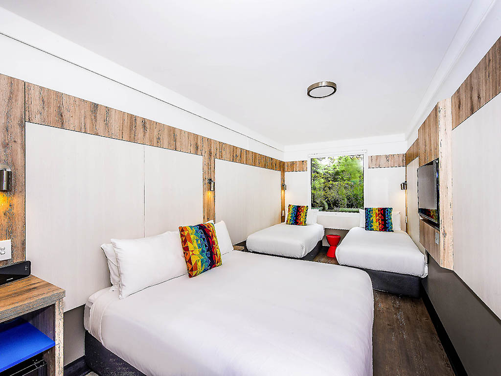 Hotel Ibis Budget Sydney Airport Rooms