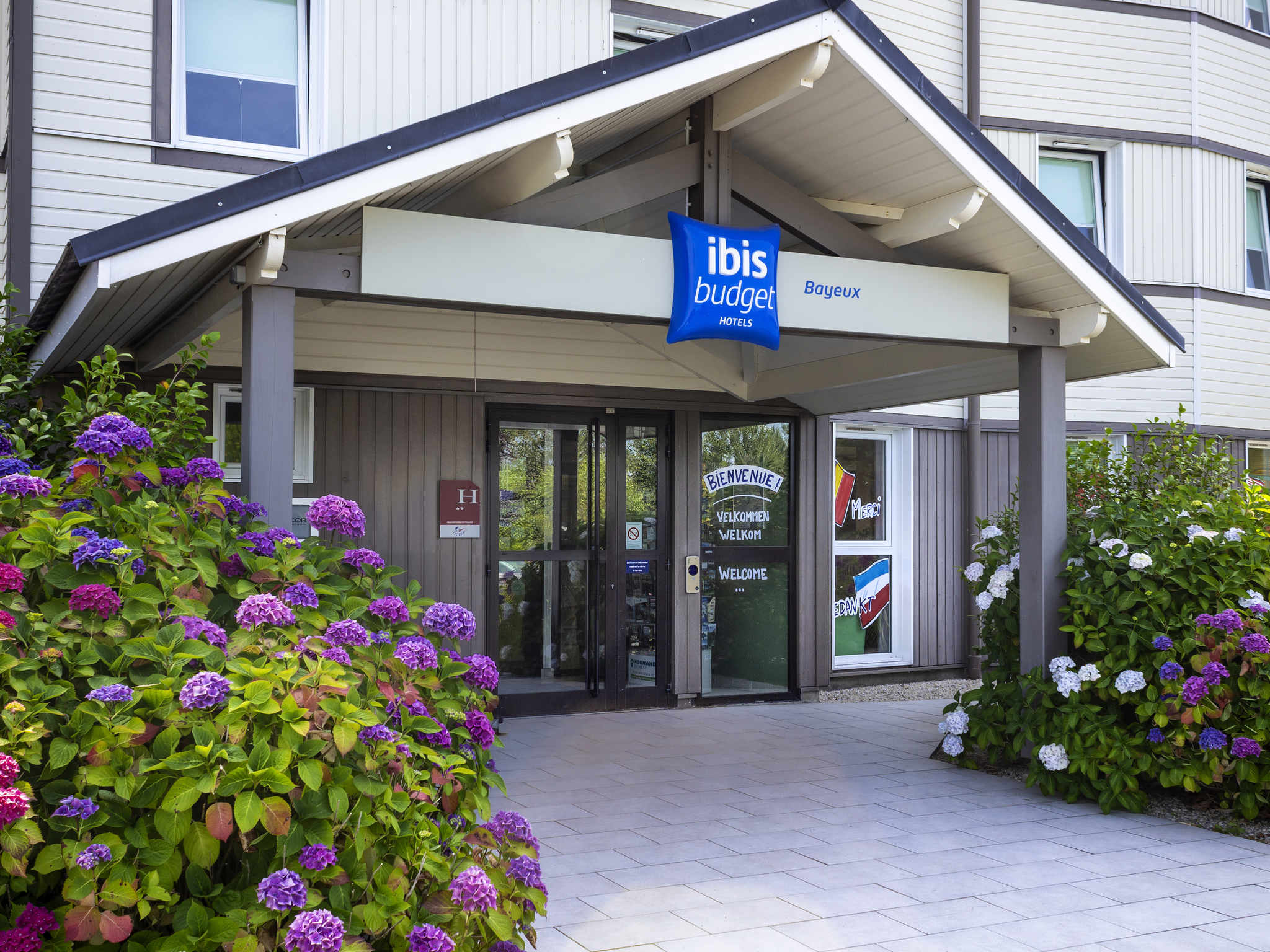 Hotel in nonant ibis budget bayeux for Hotels ibis france