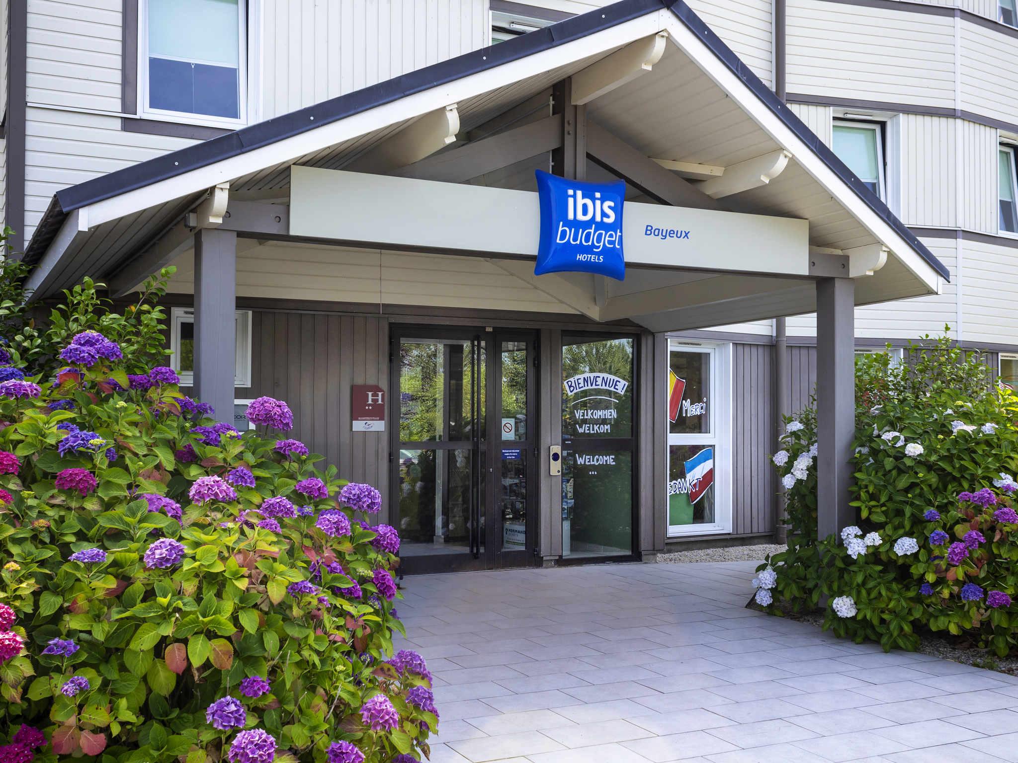 Отель — ibis budget Bayeux