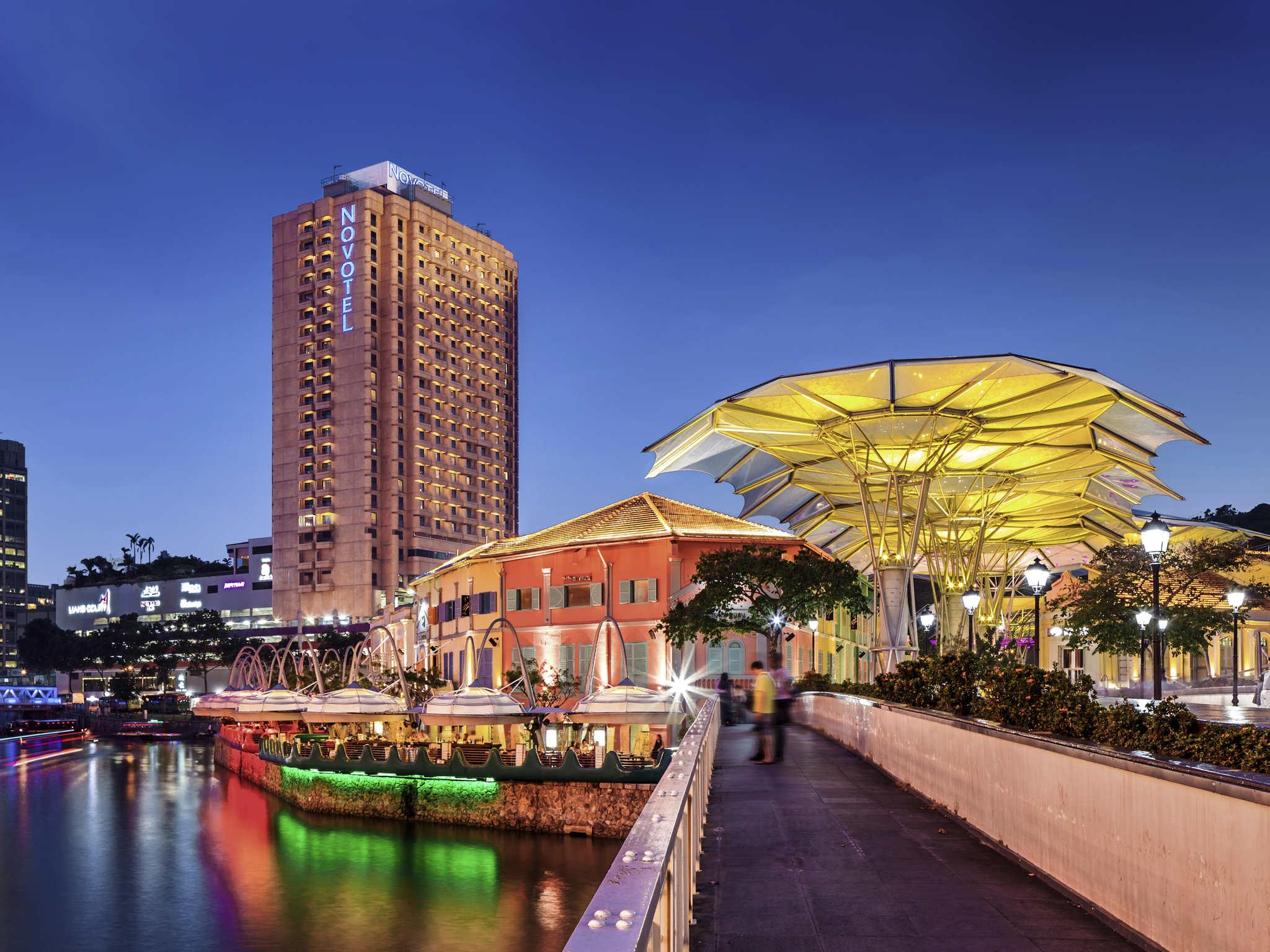 Hotell – Novotel Singapore Clarke Quay