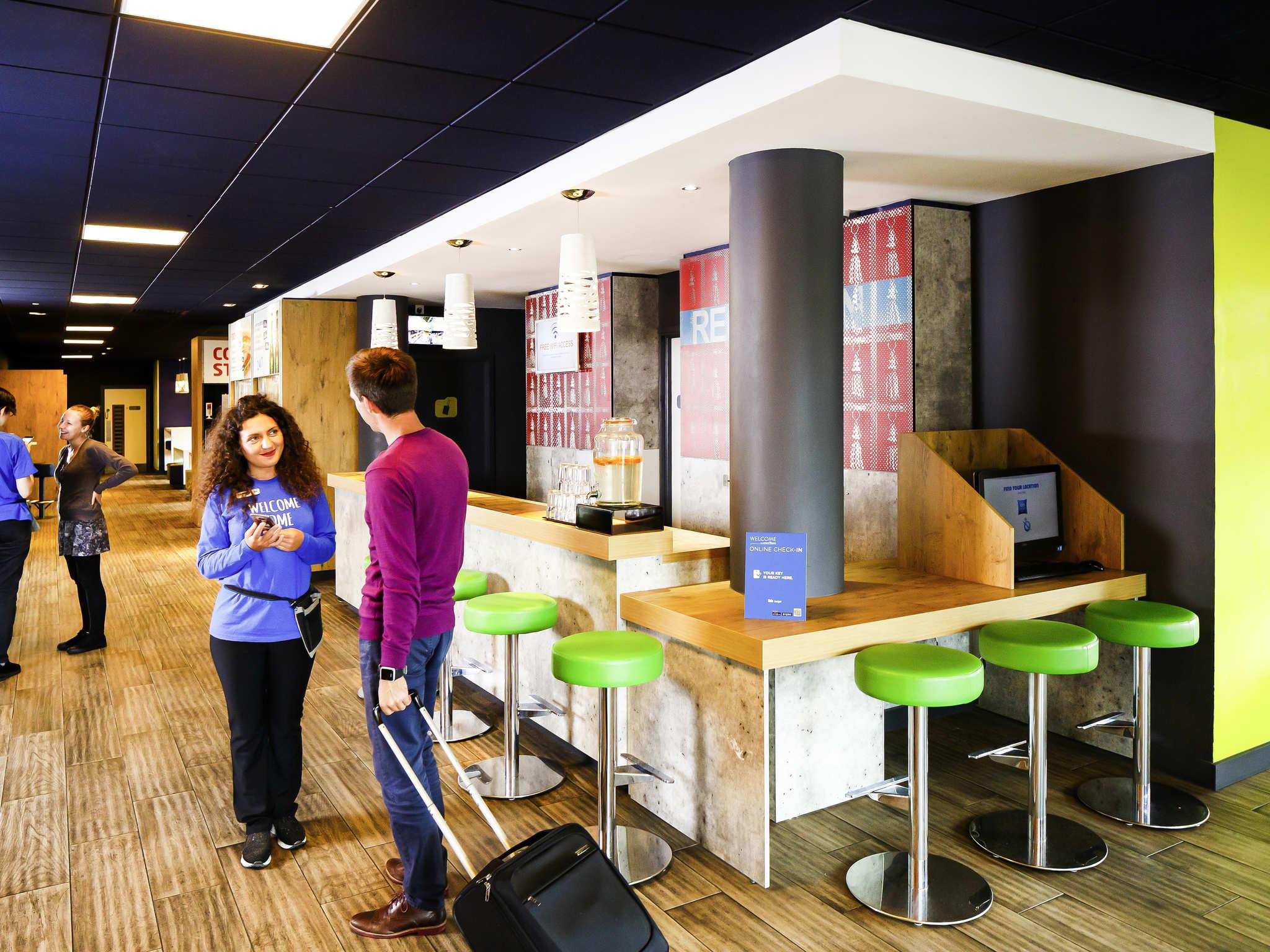 โรงแรม – ibis budget Manchester Salford Quays