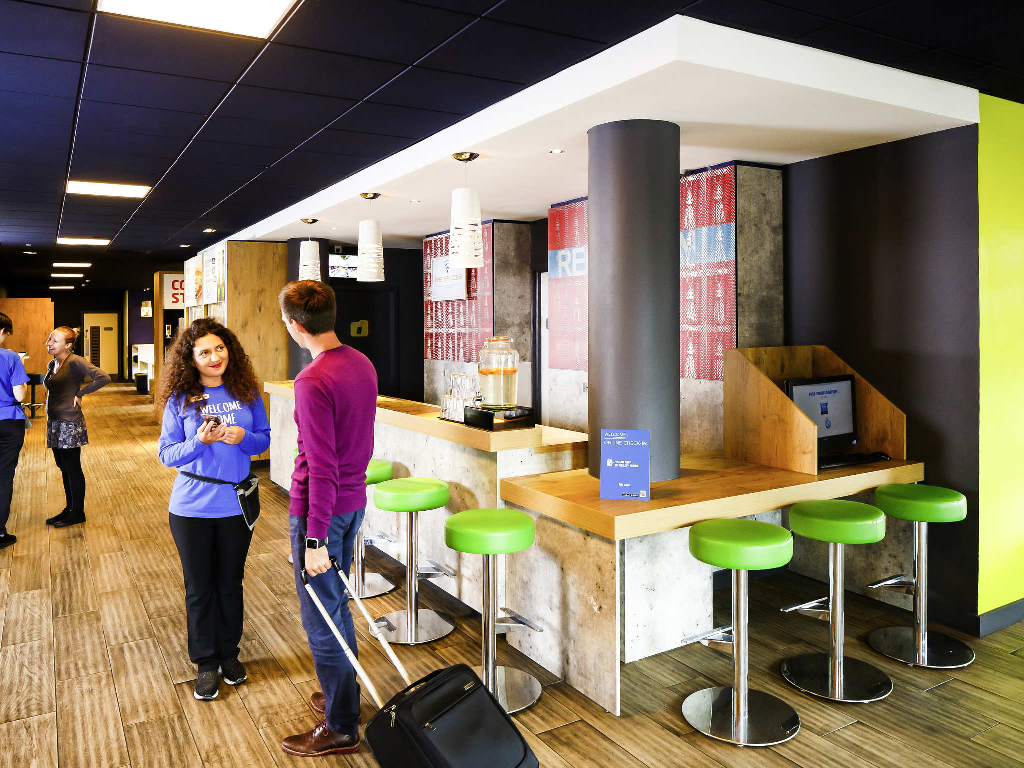 Hotell – ibis budget Manchester Salford Quays