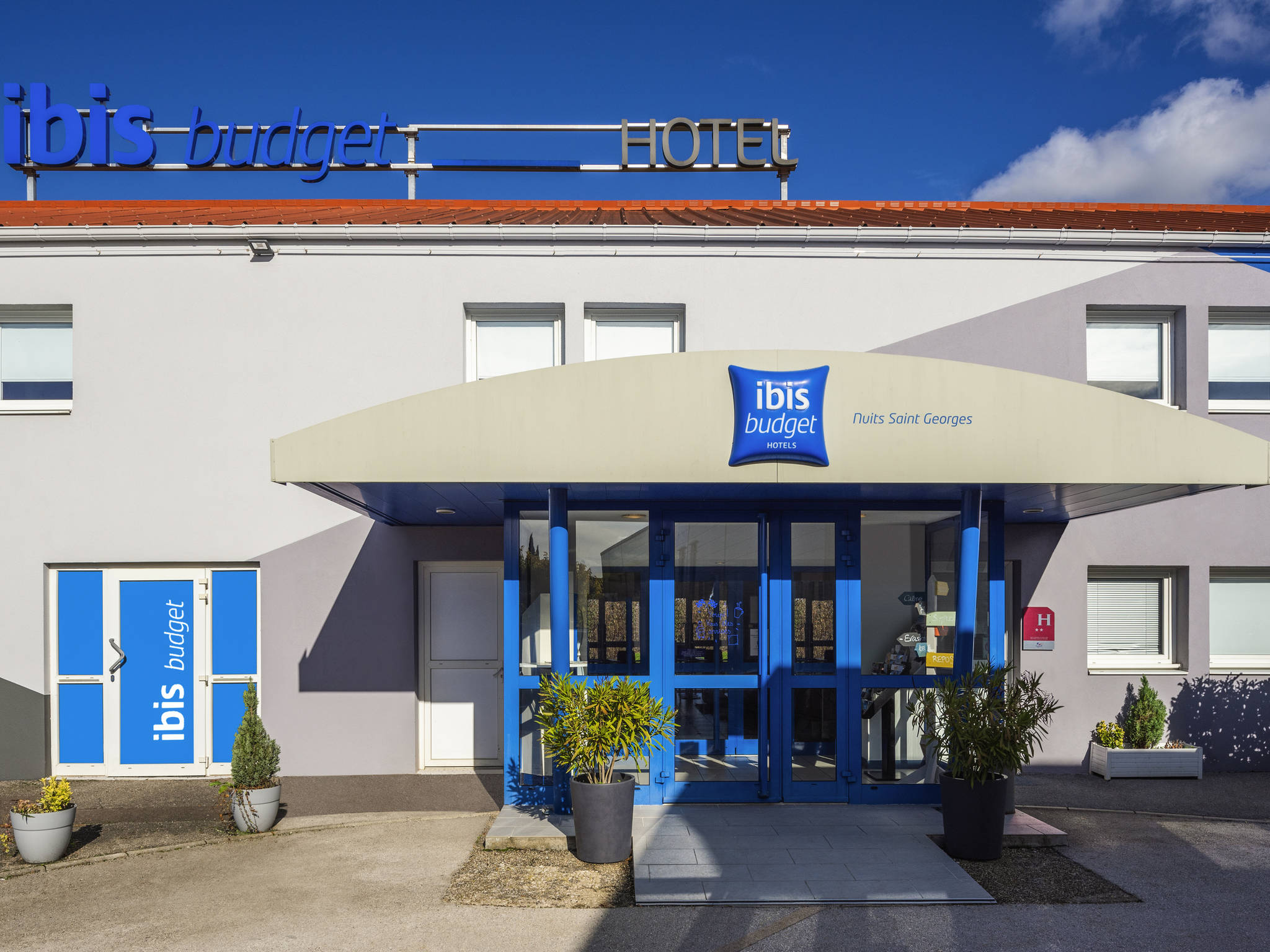 Отель — ibis budget Nuits-Saint-Georges
