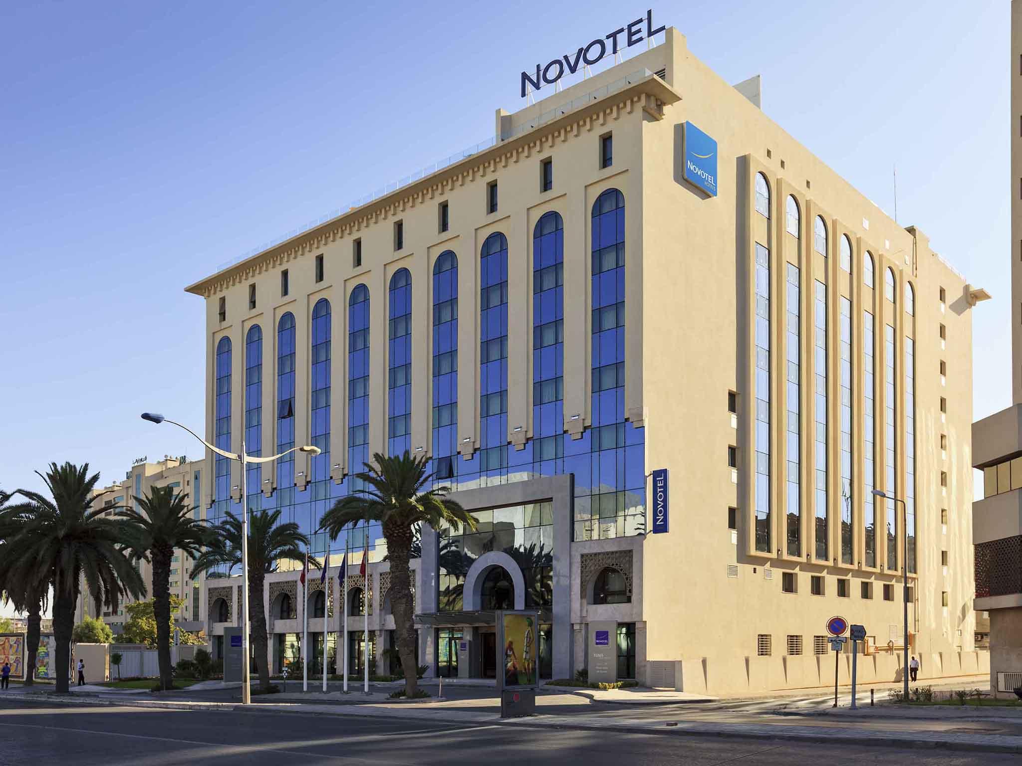 Отель — Novotel Тунис