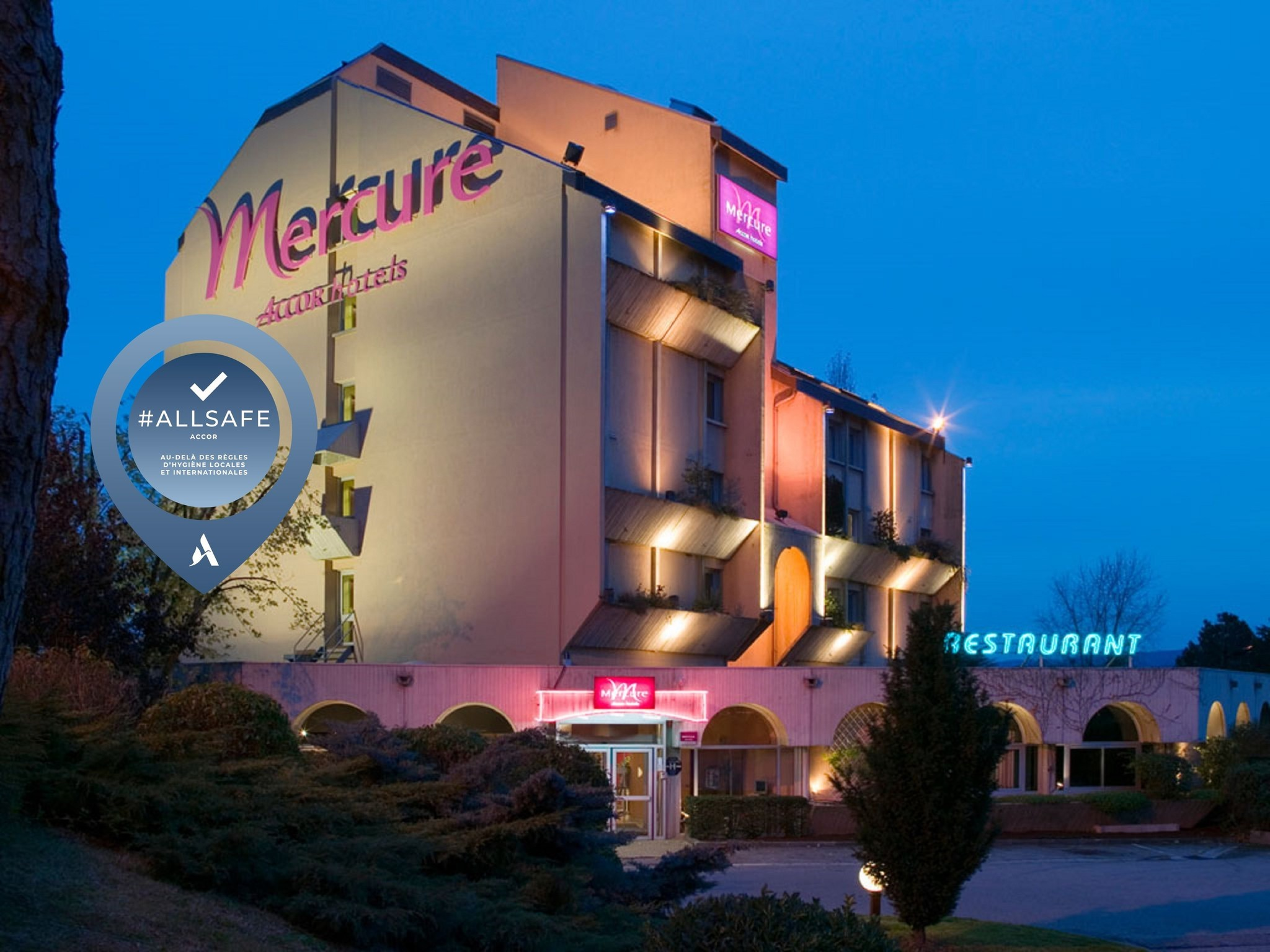 Hotel – Hotel Mercure Vienne Sur Chanas