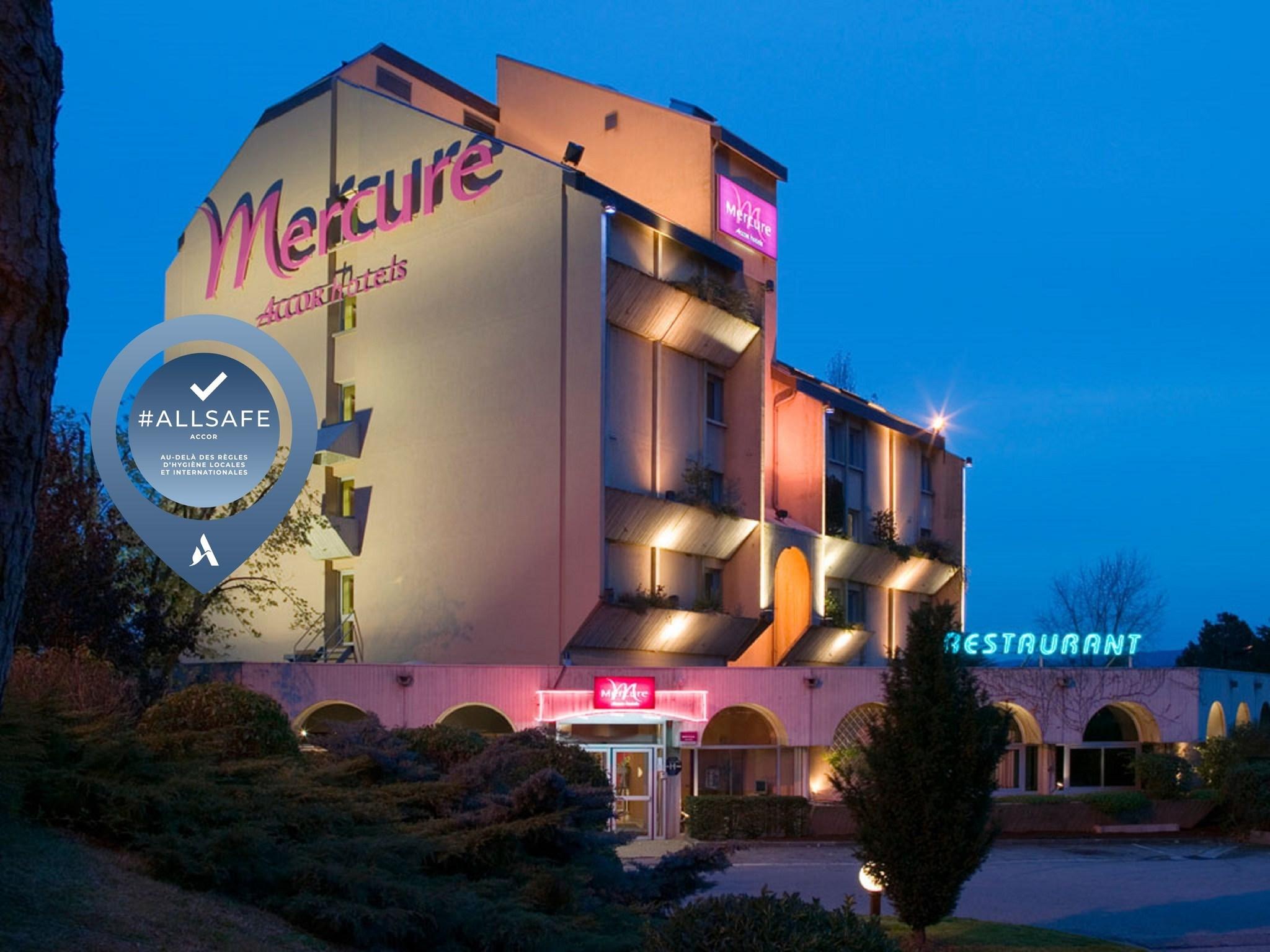 Отель — Hôtel Mercure Vienne Sud Chanas