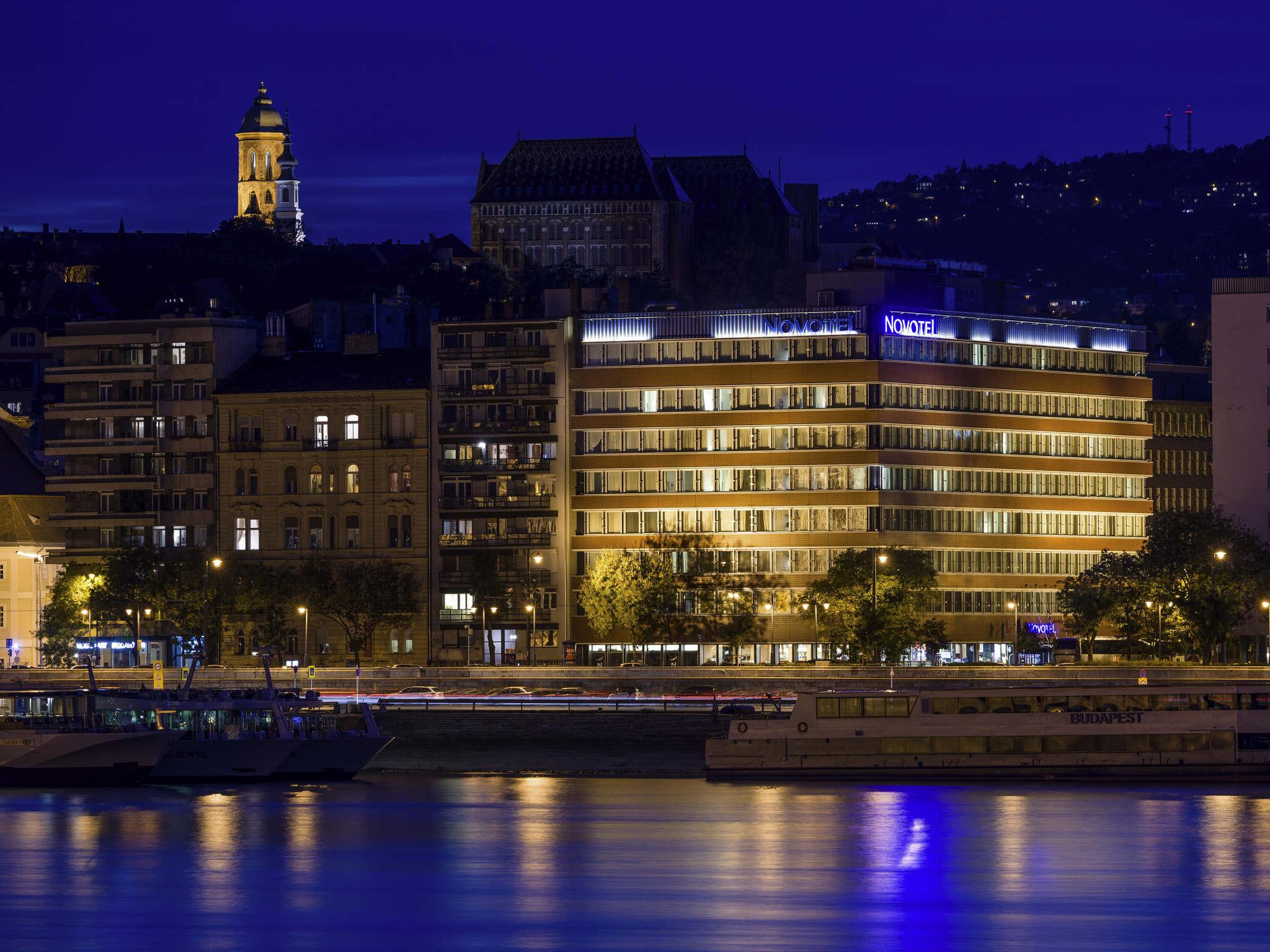 Отель — Novotel Будапешт Дунай