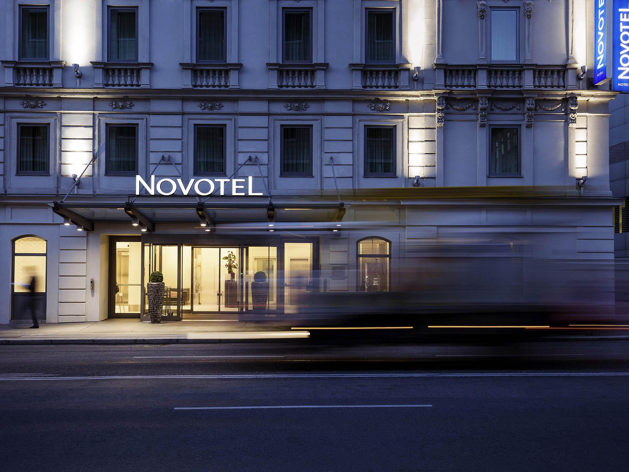 Отель — Novotel Вена Сити