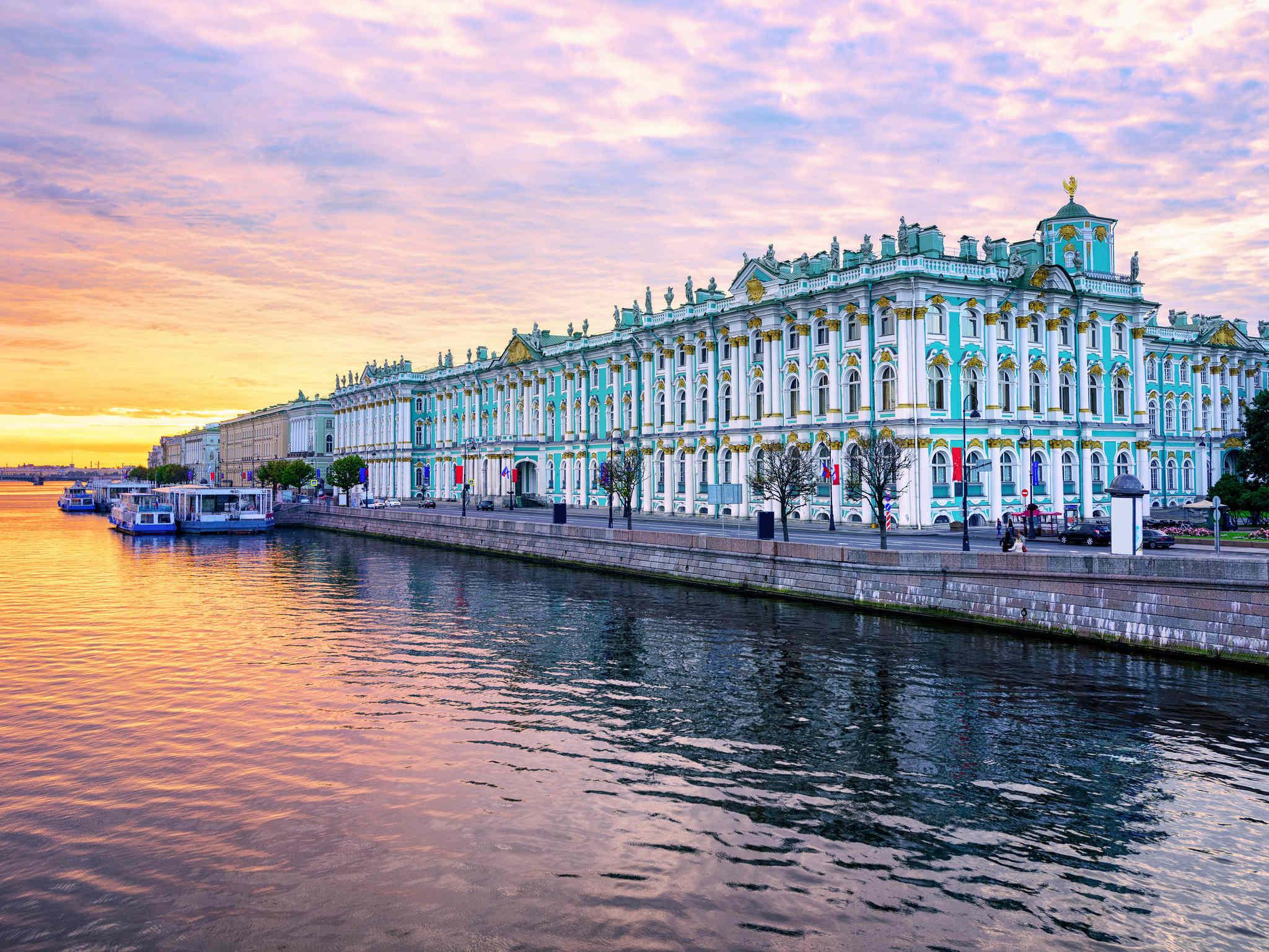 サンクトペテルブルク ホテル イビスサンクトペテルブルクセンター