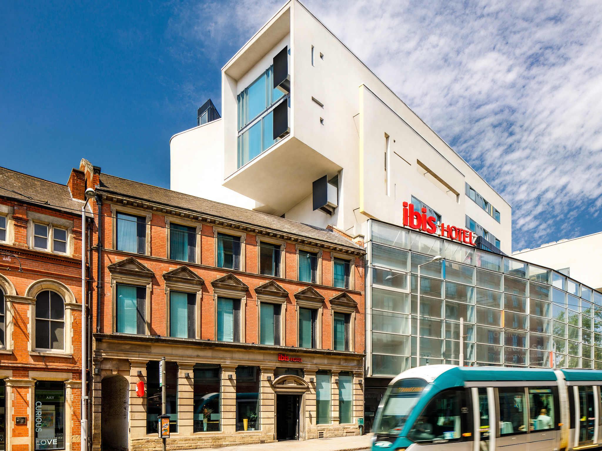 Hotell – ibis Nottingham Centre
