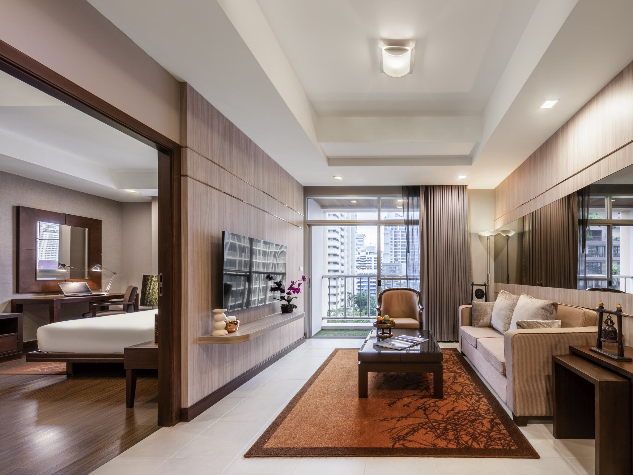 호텔 – 그랜드 머큐어 방콕 아속 레지던스