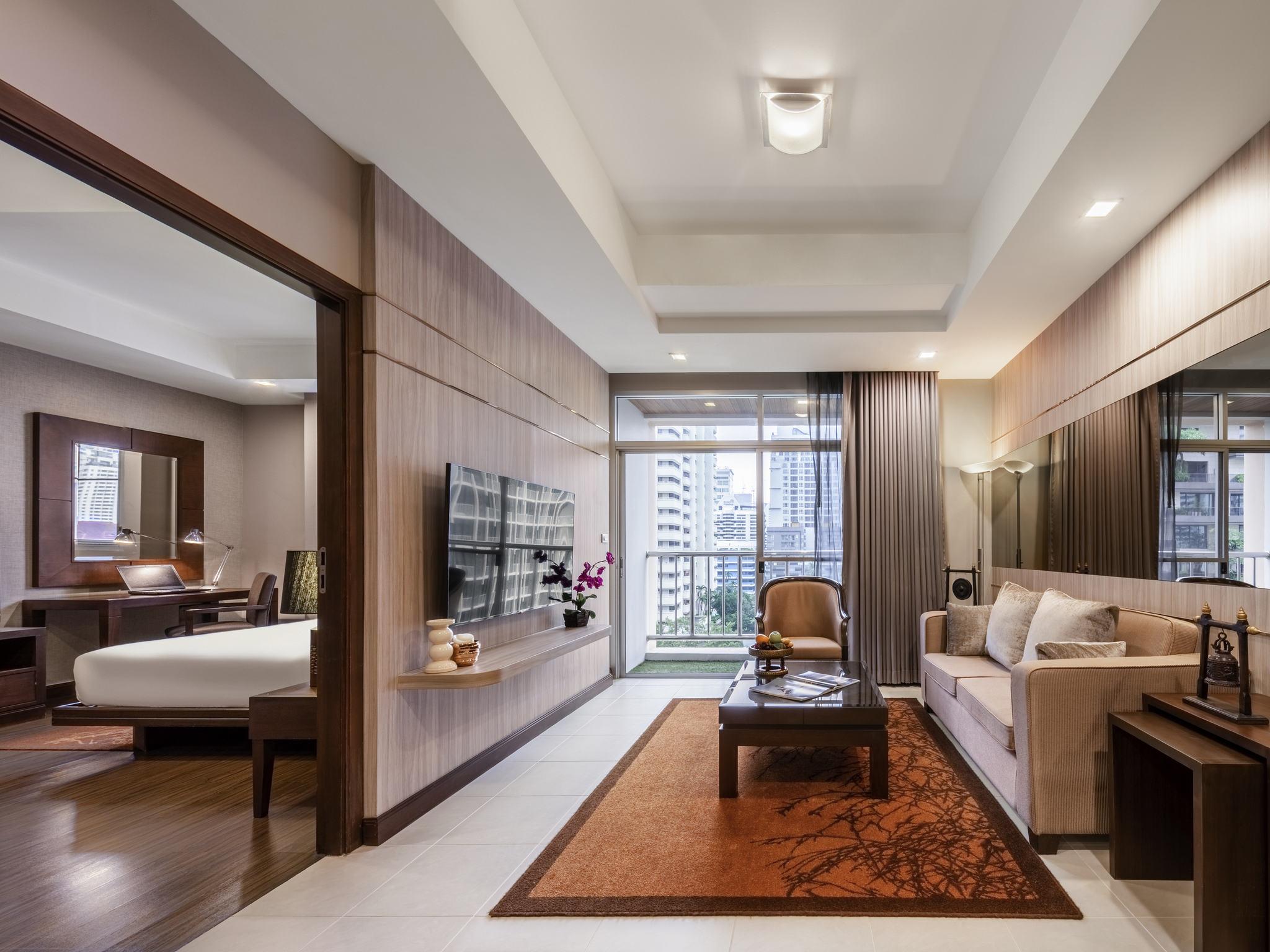 Hotel – Grand Mercure Bangkok Asoke Residence (przedtem Sofitel)