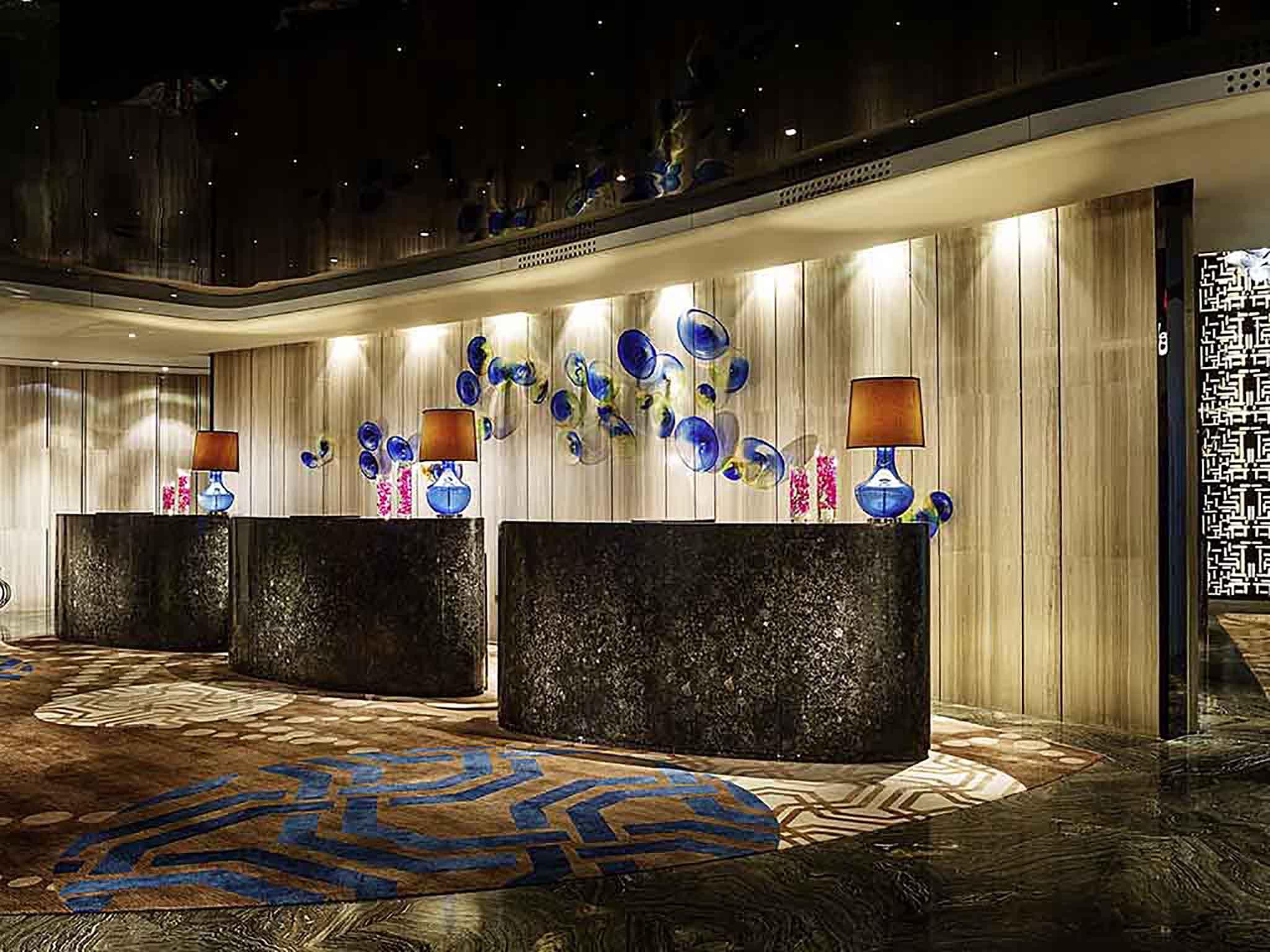 Otel – Sofitel Nanjing Galaxy Suning