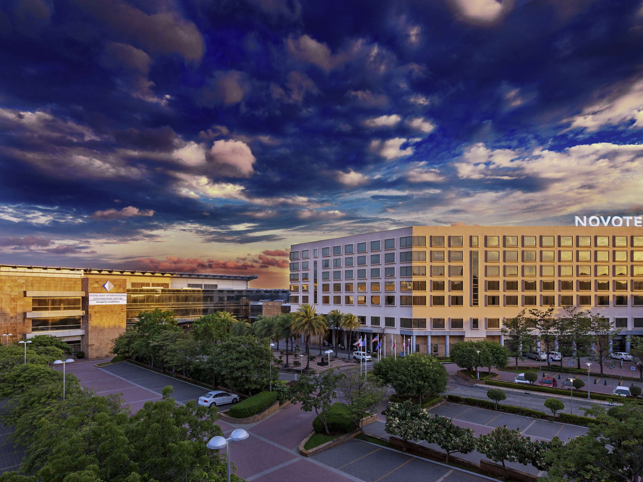 Hotell – Novotel Hyderabad Convention Centre