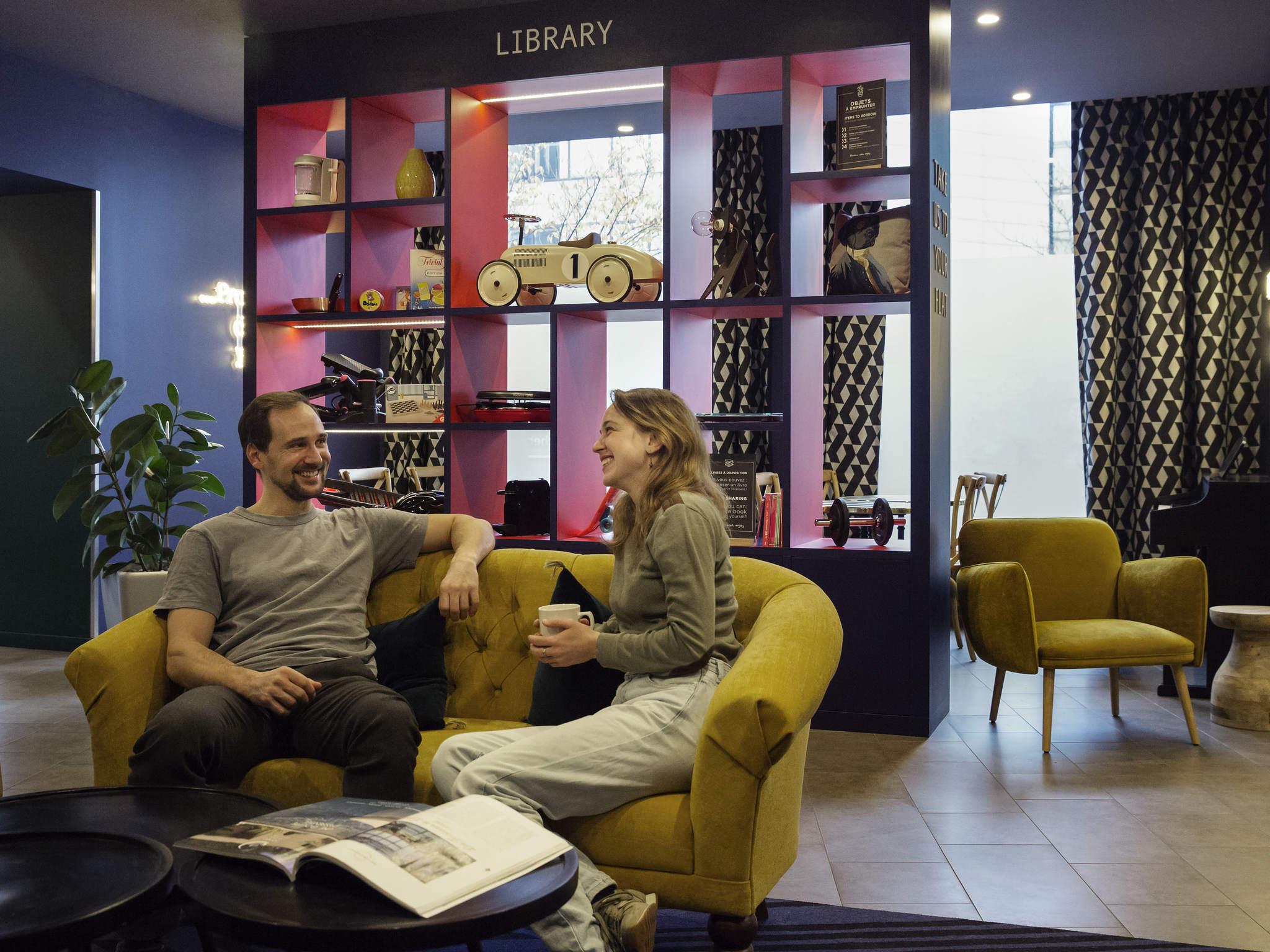 Hotell – Aparthotel Adagio Annecy Centre