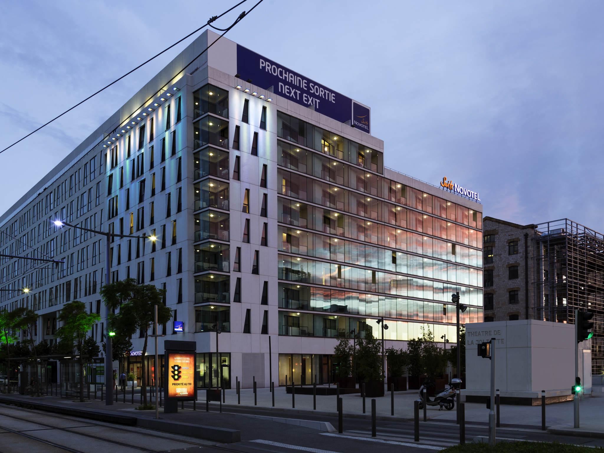 酒店 – 马赛中心 Euromed 诺富特套房酒店