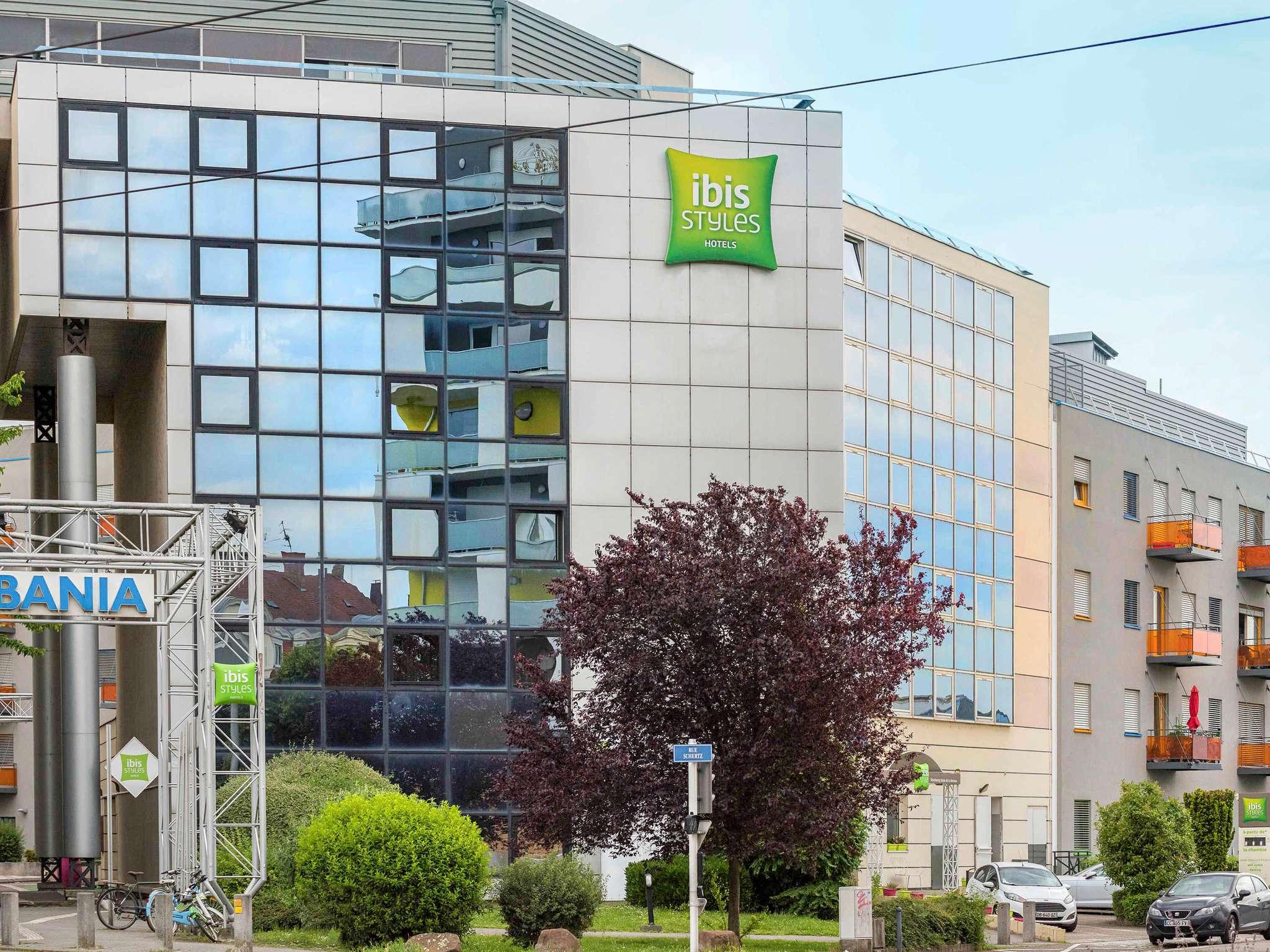 ホテル – イビス スタイルズ ストラスブール スタッド ドゥ ラ メノ