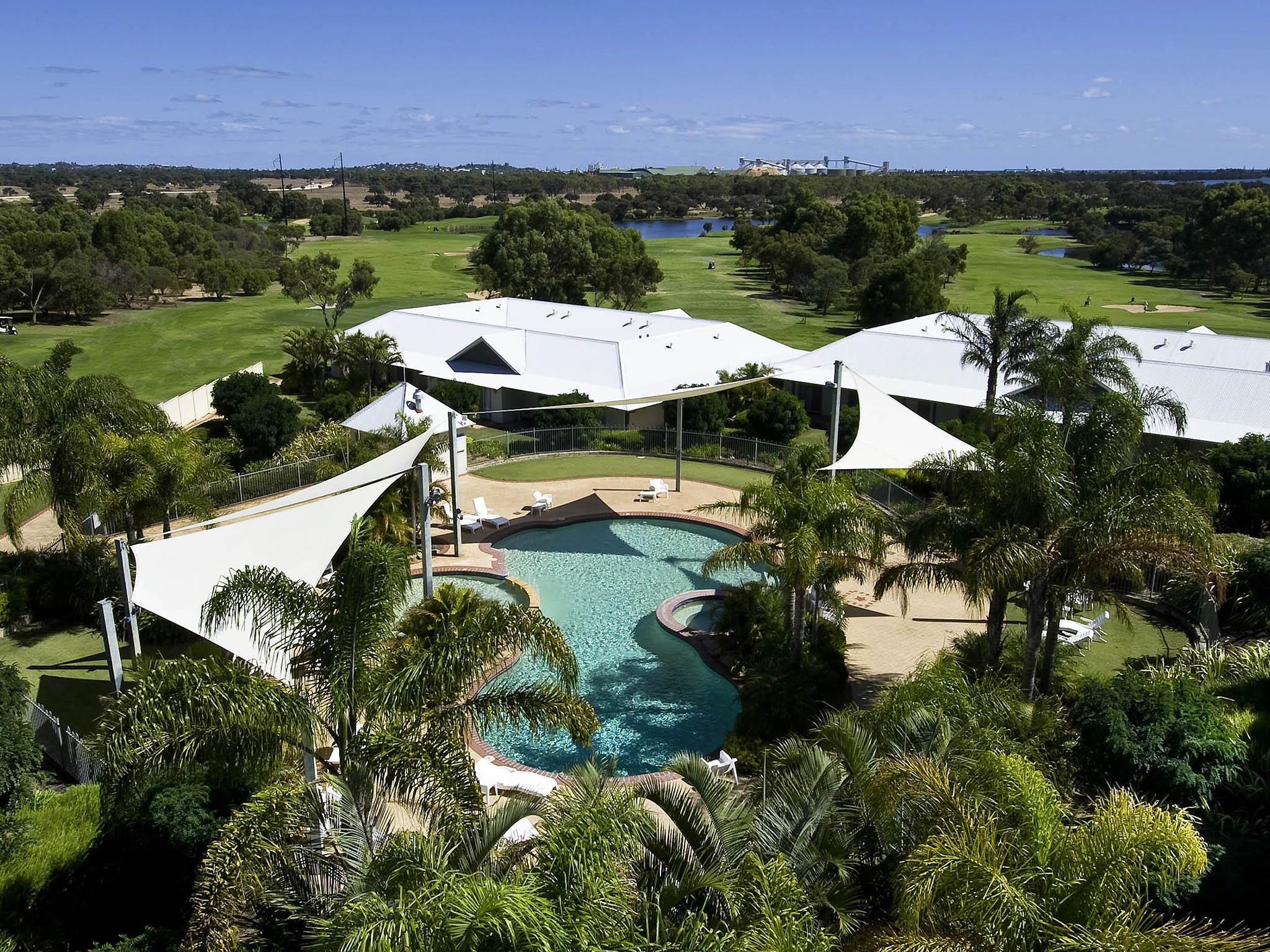 Hotell – Mercure Bunbury Sanctuary Golf Resort