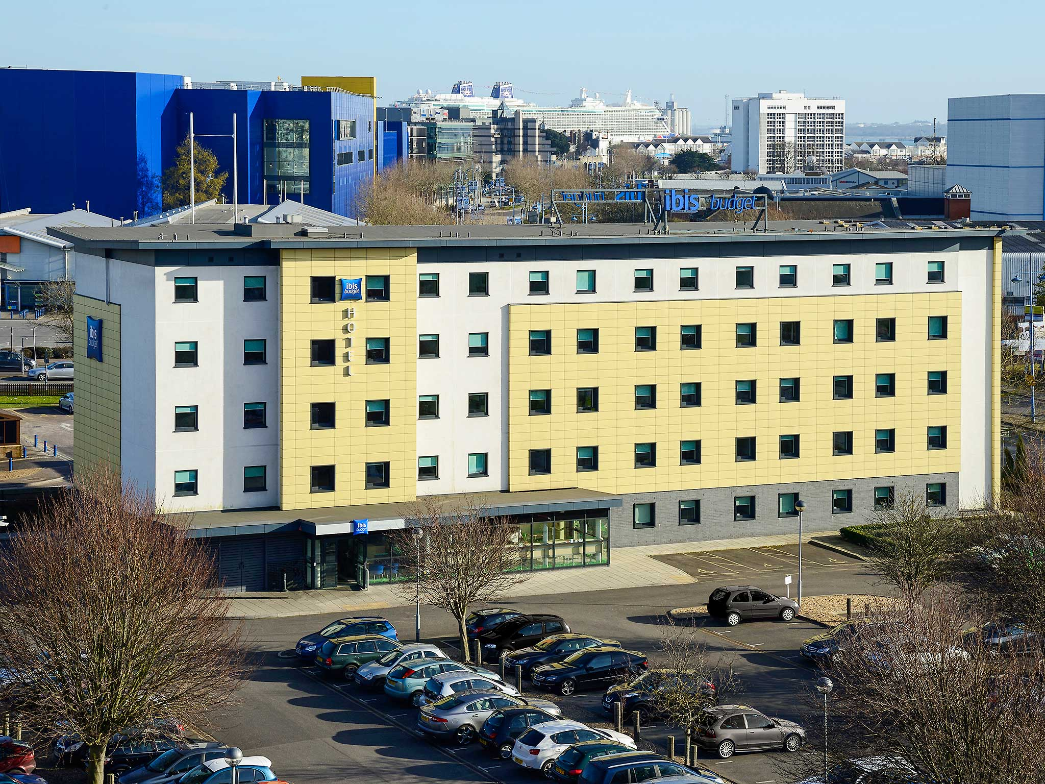 Hotell – ibis budget Southampton Centre