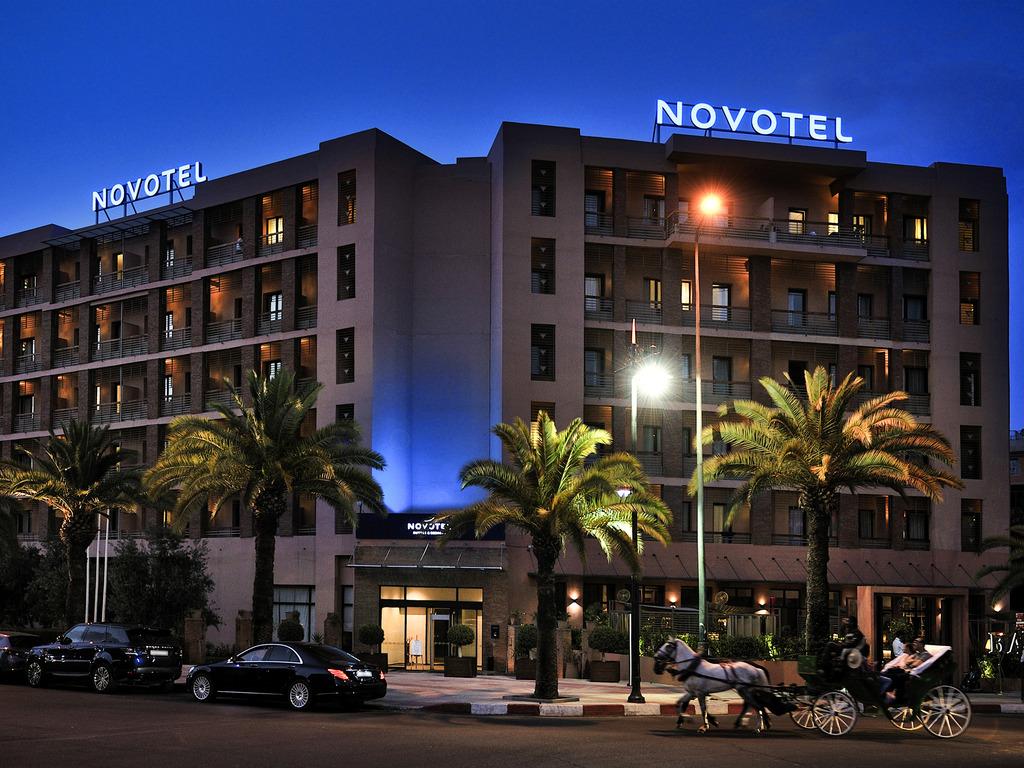 马拉喀什 Hivernage 诺富特酒店