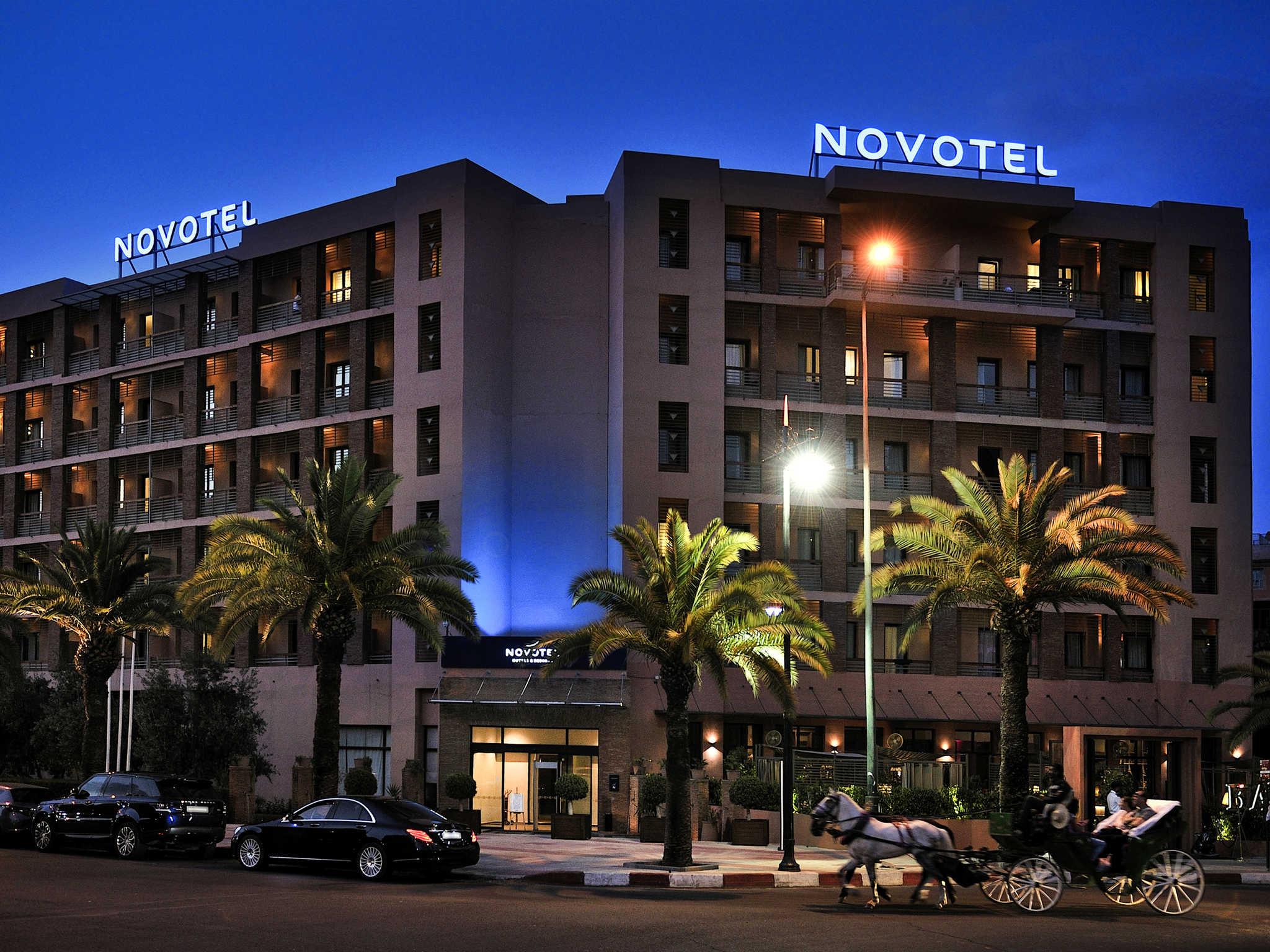 Отель — Novotel Марракеш Ивернаж