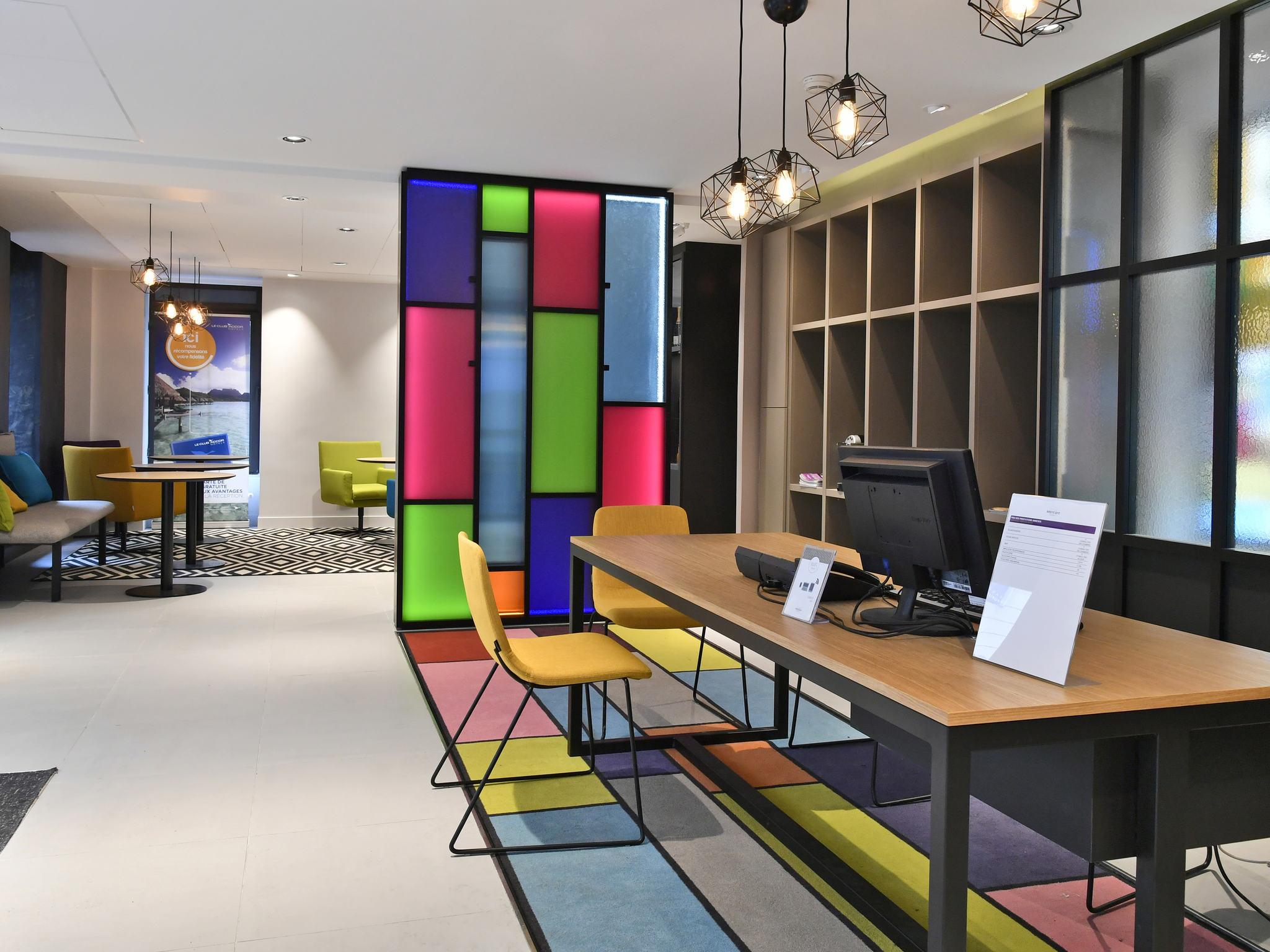โรงแรม – โรงแรมเมอร์เคียว ปารีส การ์ เดอ เลสต์ มาเกนตา