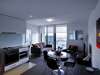 Pokoje - Grand Mercure Apartments Docklands
