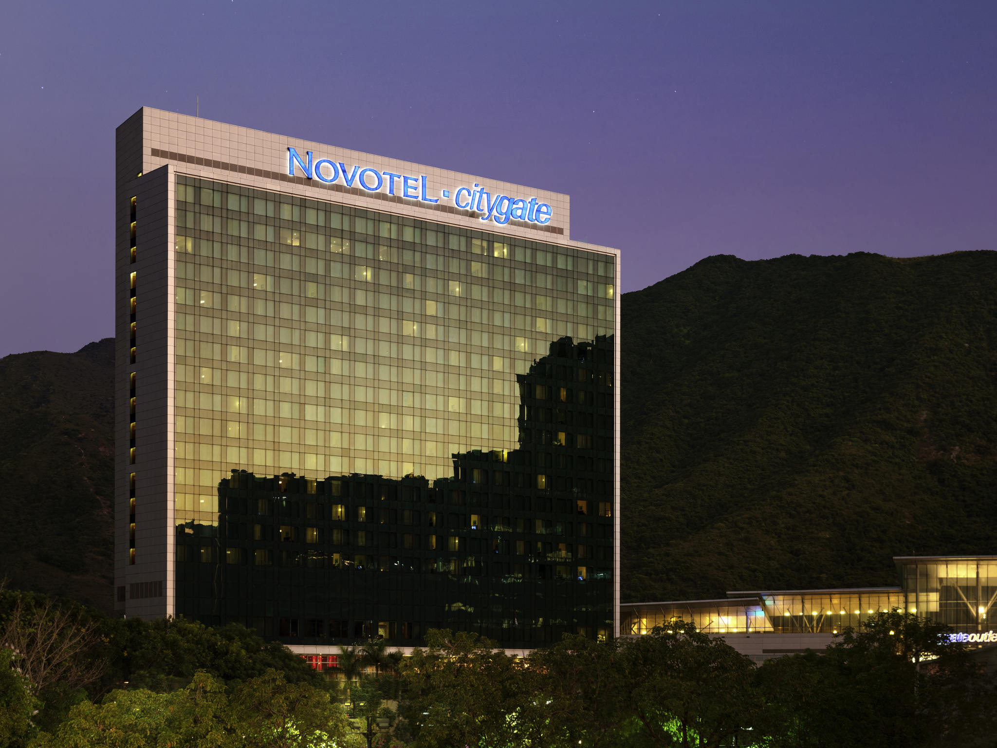 Отель — Novotel Гонконг Городские ворота