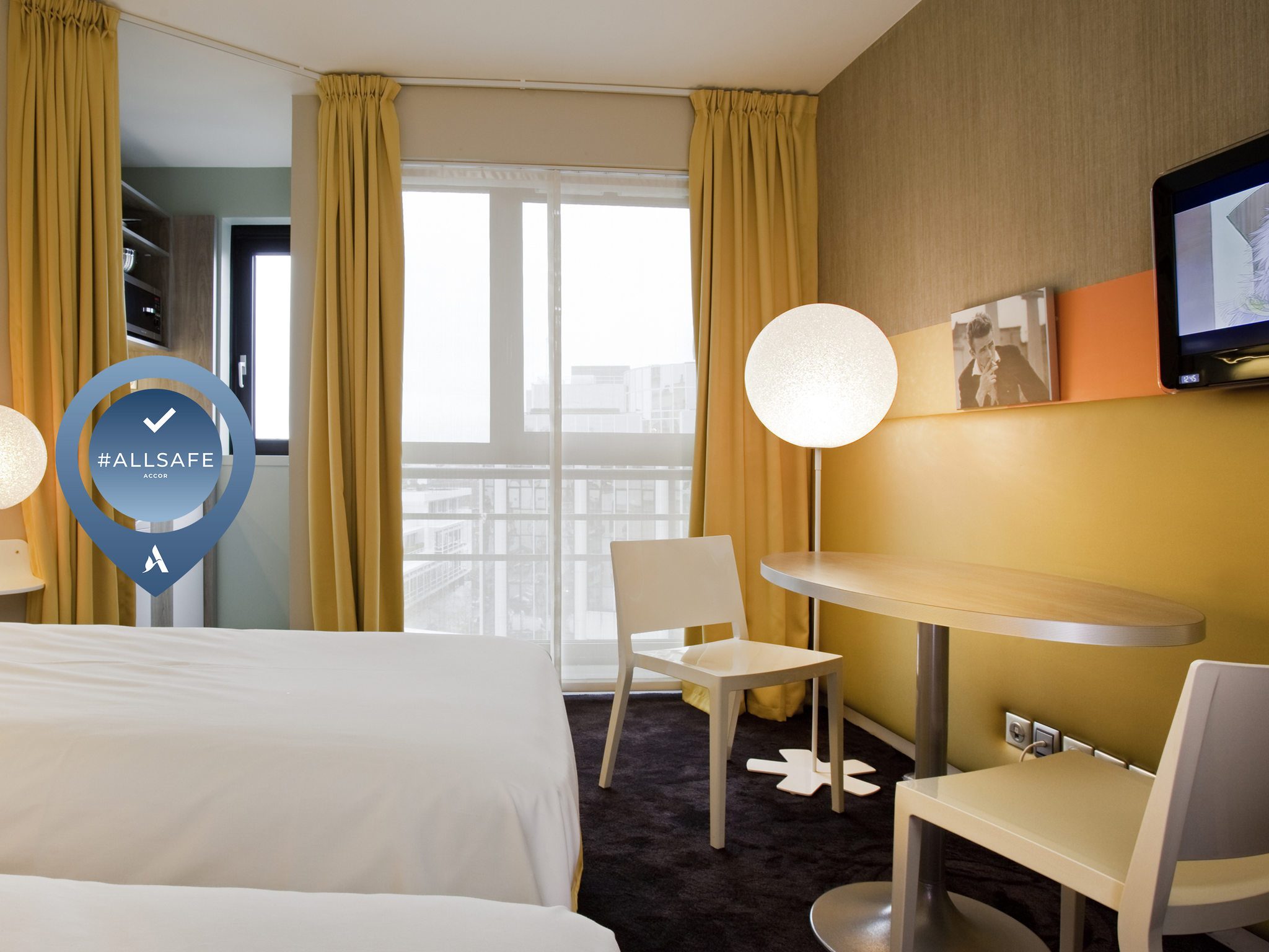酒店 – 巴黎布洛涅美居公寓酒店