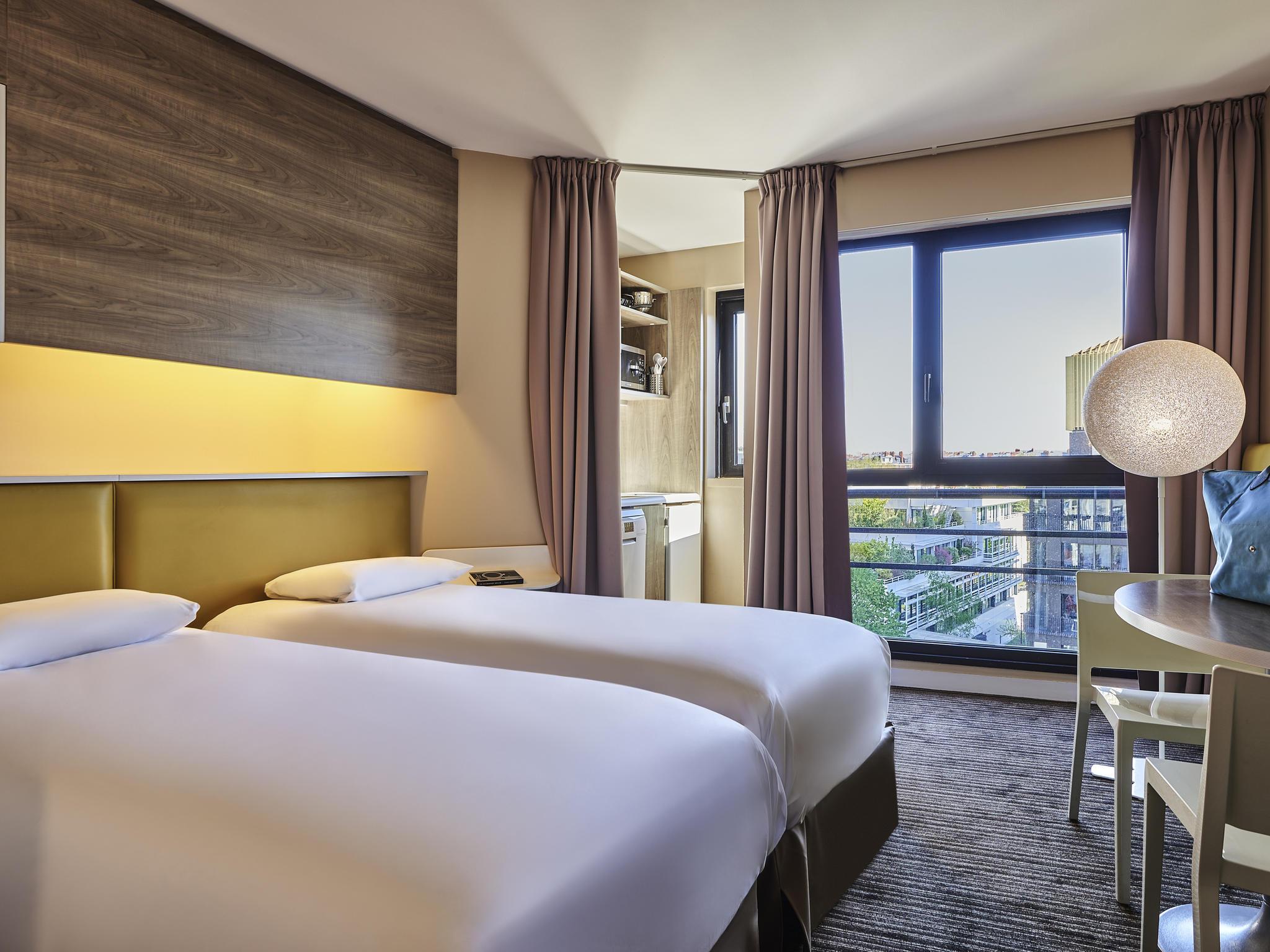 Отель — Апартотель Mercure Париж Булонь