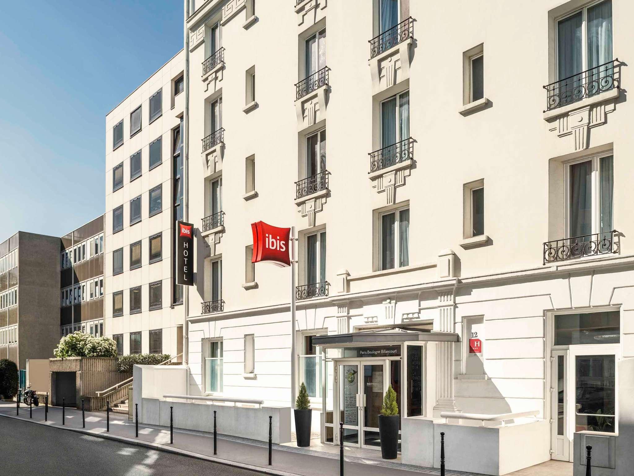 Отель — ibis Париж Булонь-Бийанкур