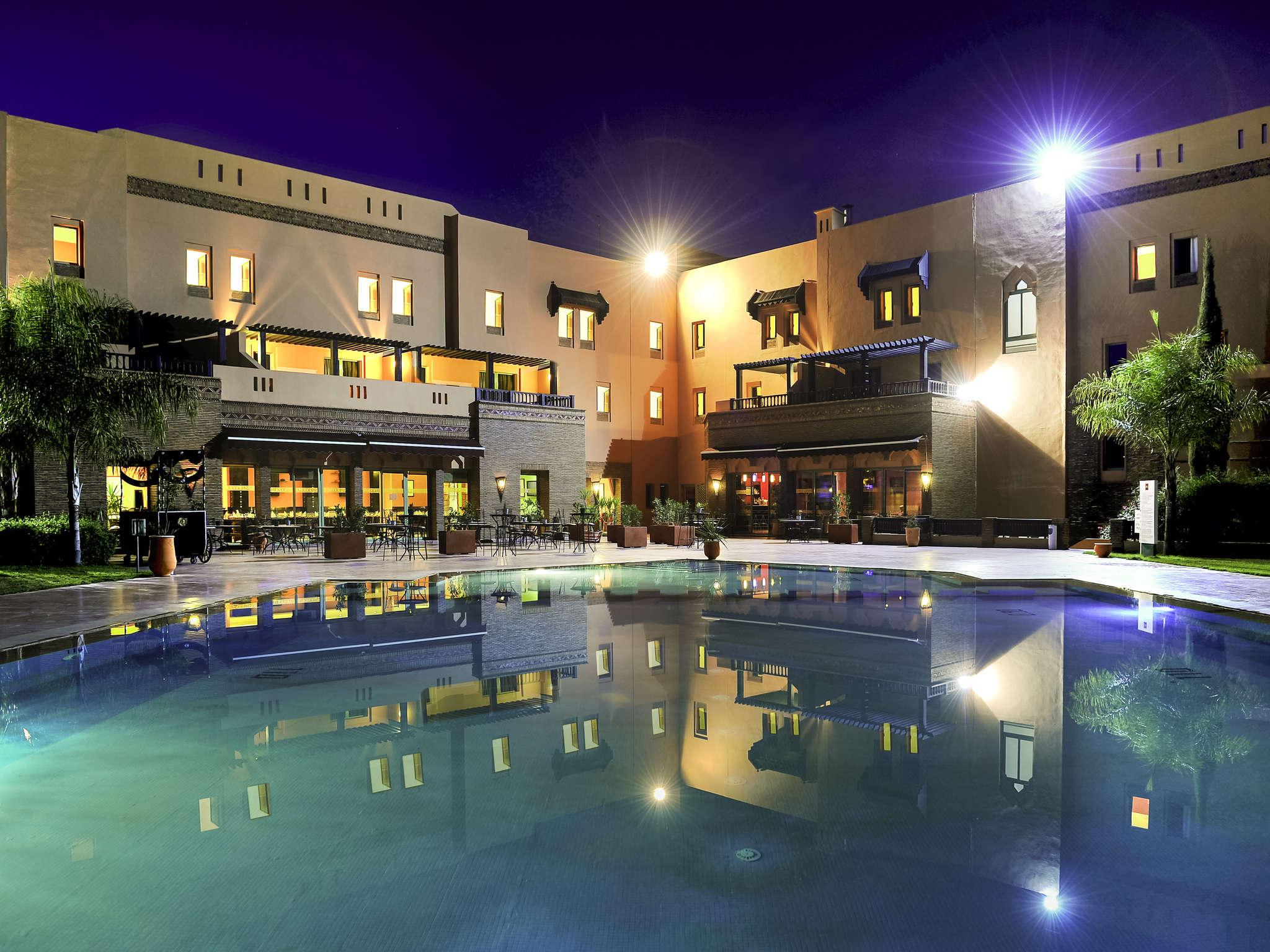 酒店 – 宜必思穆萨菲尔马拉喀什 Palmeraie 酒店
