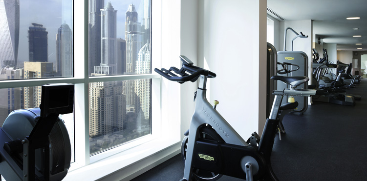 Golf fitness amenities pullman dubai jumeirah lakes towers hotel and residence - Best cardio equipment for small spaces property ...