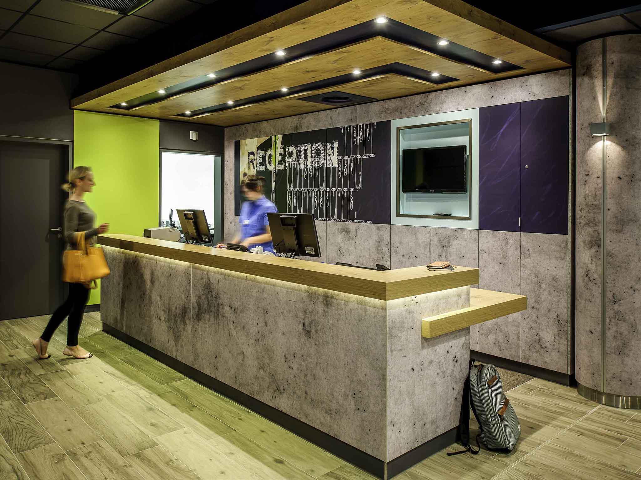 Hotell – ibis budget Bordeaux Centre Bastide