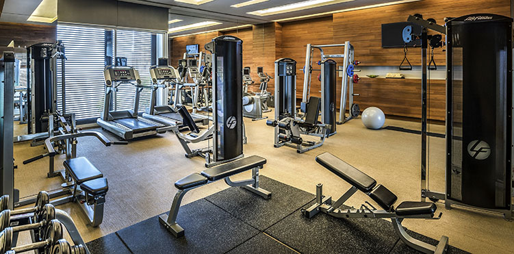 Golf fitness amenities pullman bangkok king power - Best cardio equipment for small spaces property ...