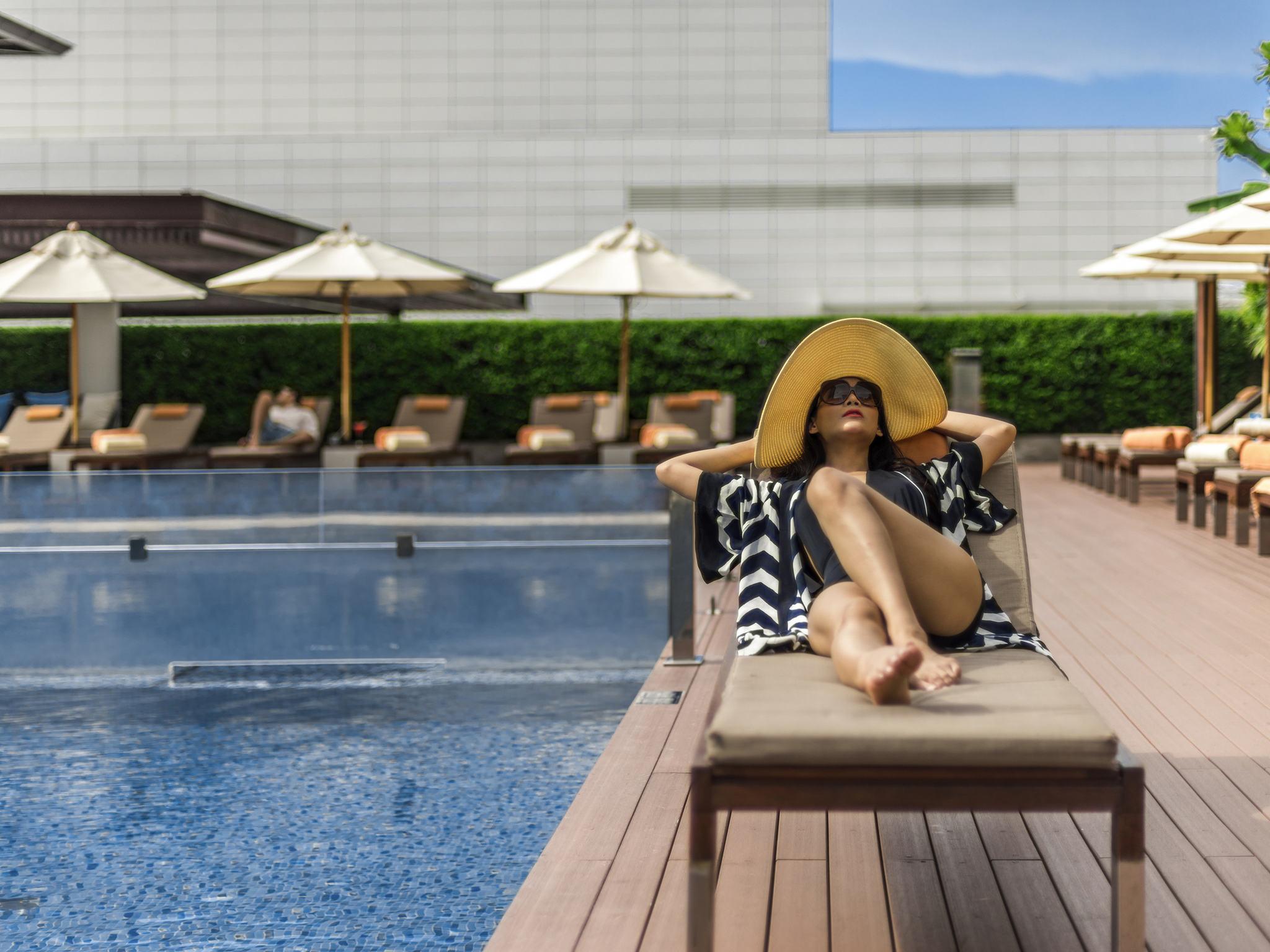호텔 – 풀만 방콕 킹 파워