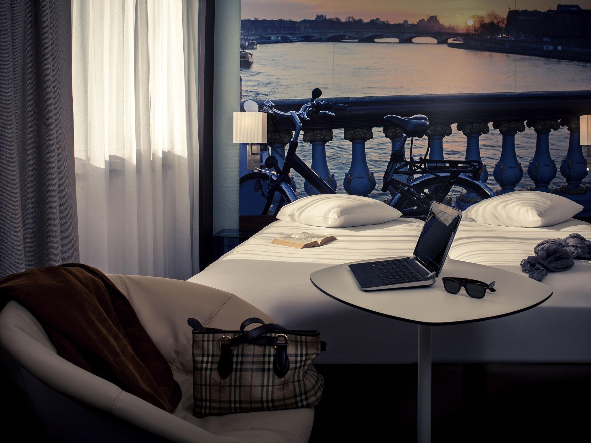 Отель — Hôtel Mercure Paris Ivry Quai de Seine