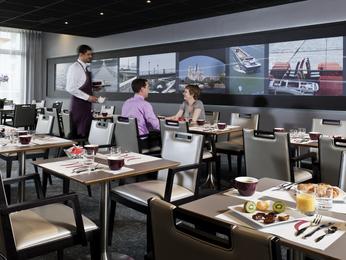 Restaurant caf bar l 39 hotel h tel mercure paris ivry - Point p ivry ...