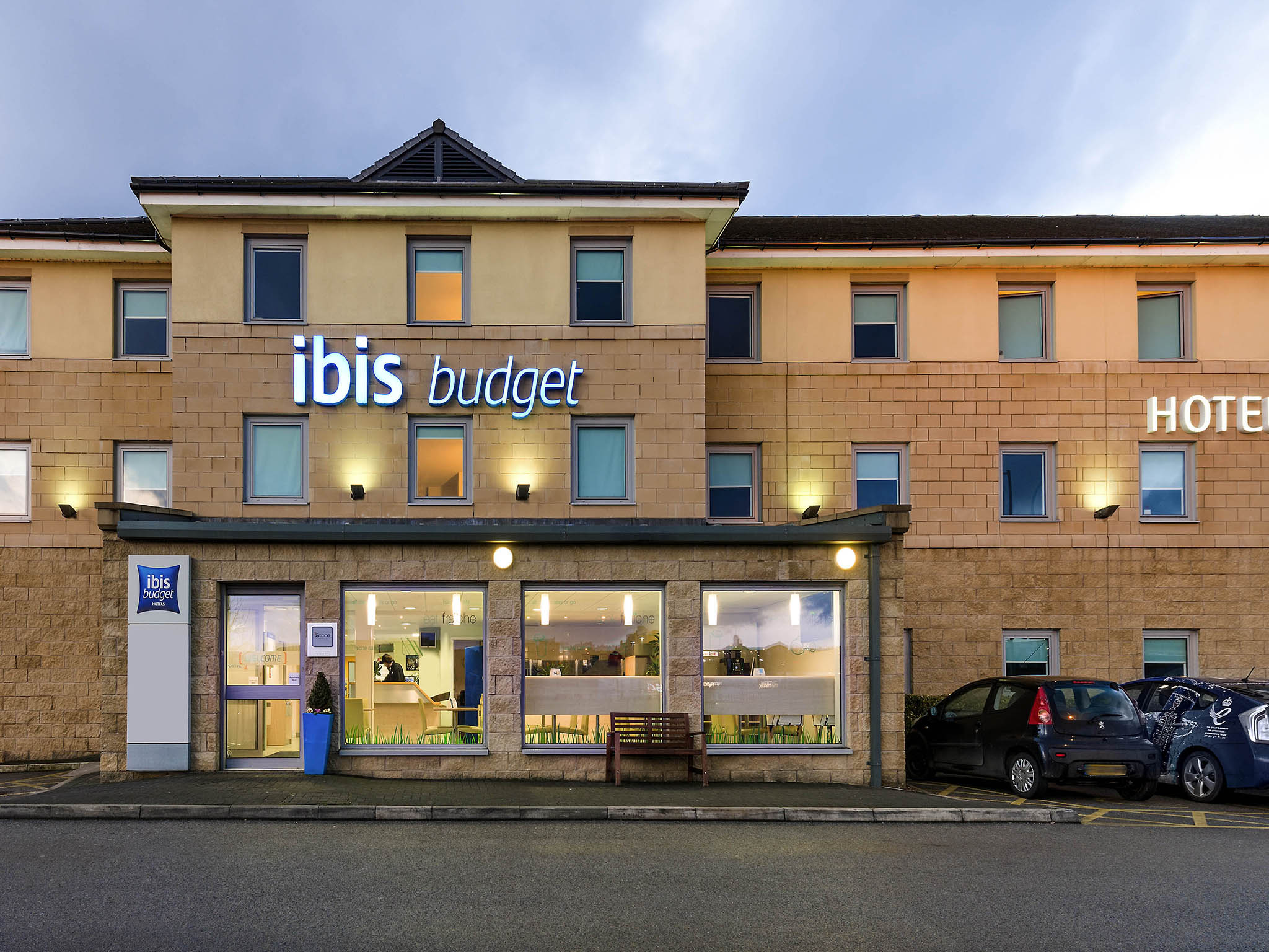 Отель — ibis budget Bradford