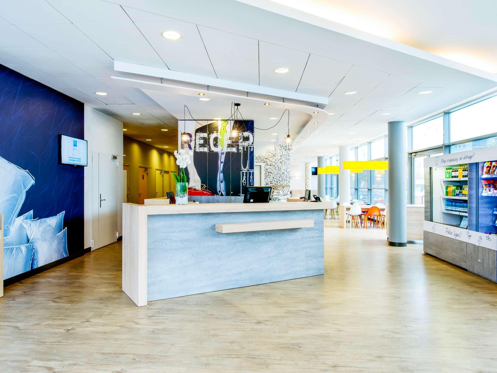 Hotell – ibis budget Warszawa Centrum