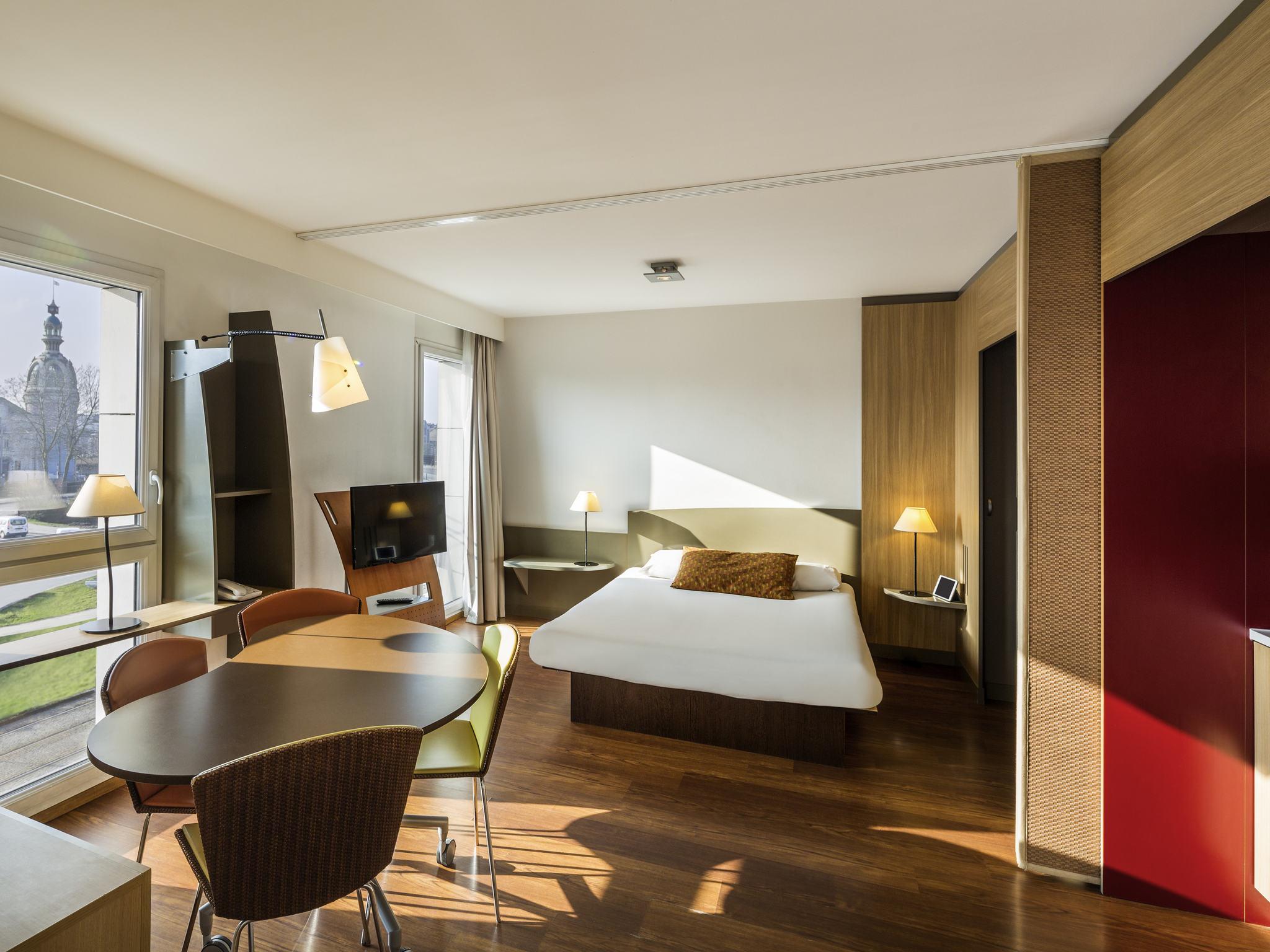 Hotel in nantes aparthotel adagio nantes centre for Aparthotel nantes