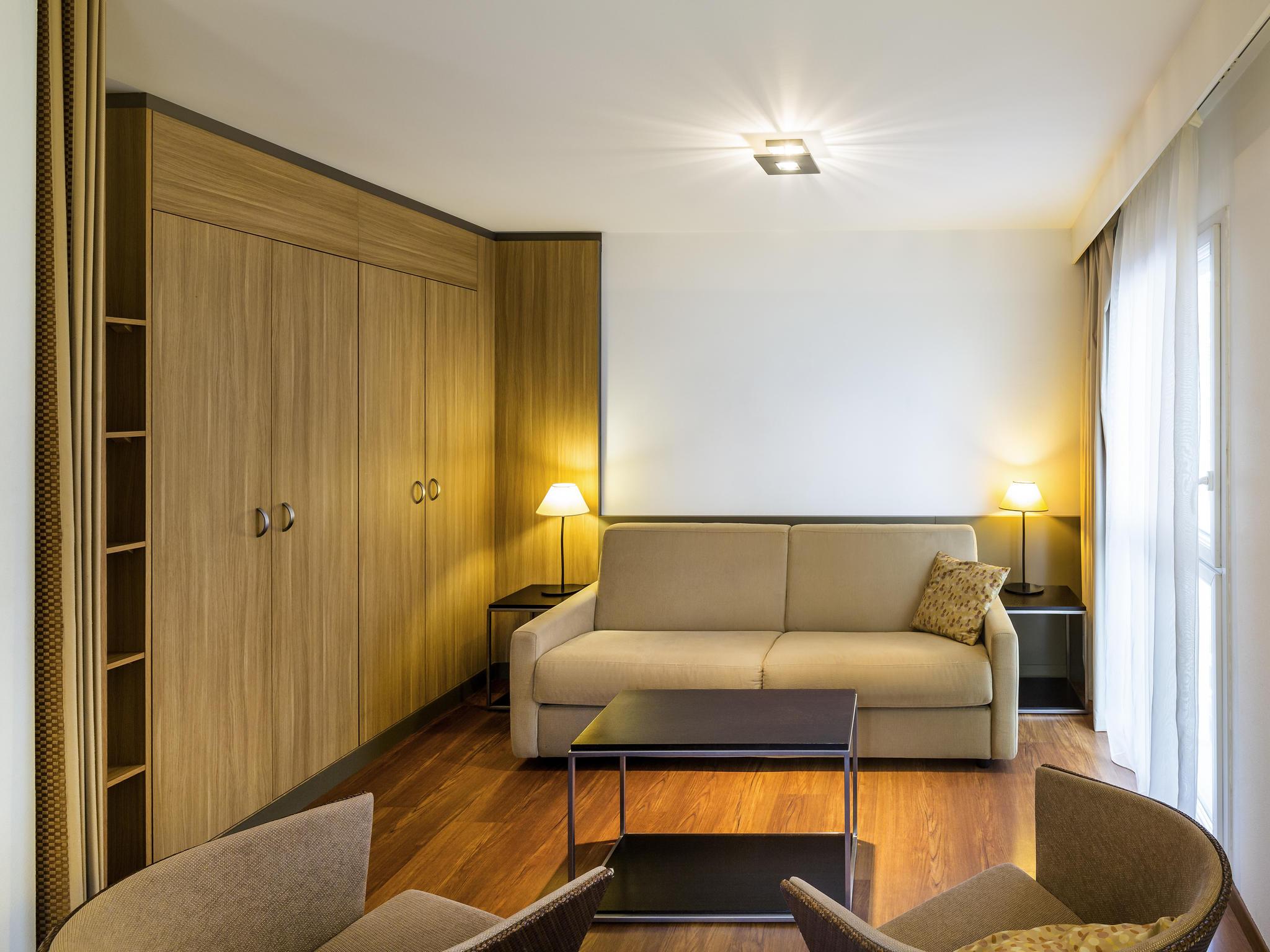 Adagio city aparthotel nantes centre for Aparthotel bretagne