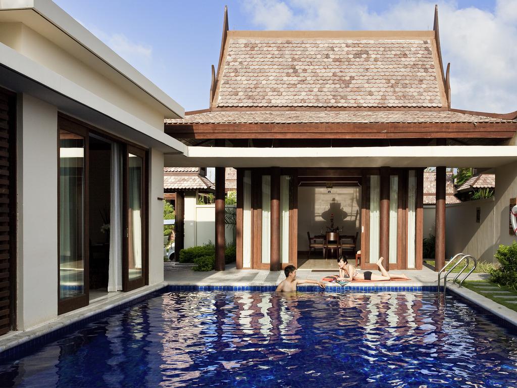 带华府的单风情泰国卧室豪华别墅别墅剖面联百泳池图片