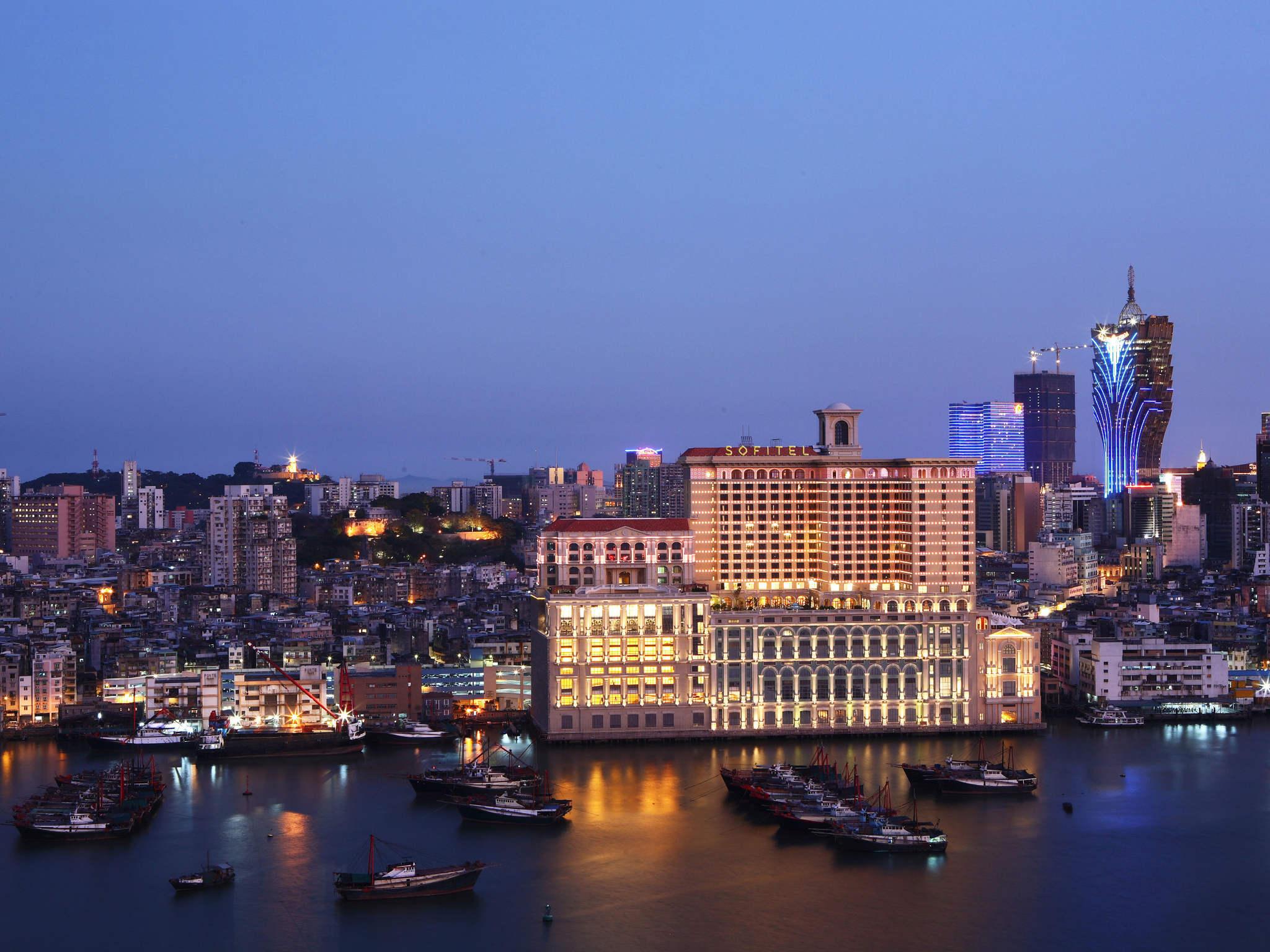 โรงแรม – Sofitel Macau at Ponte 16