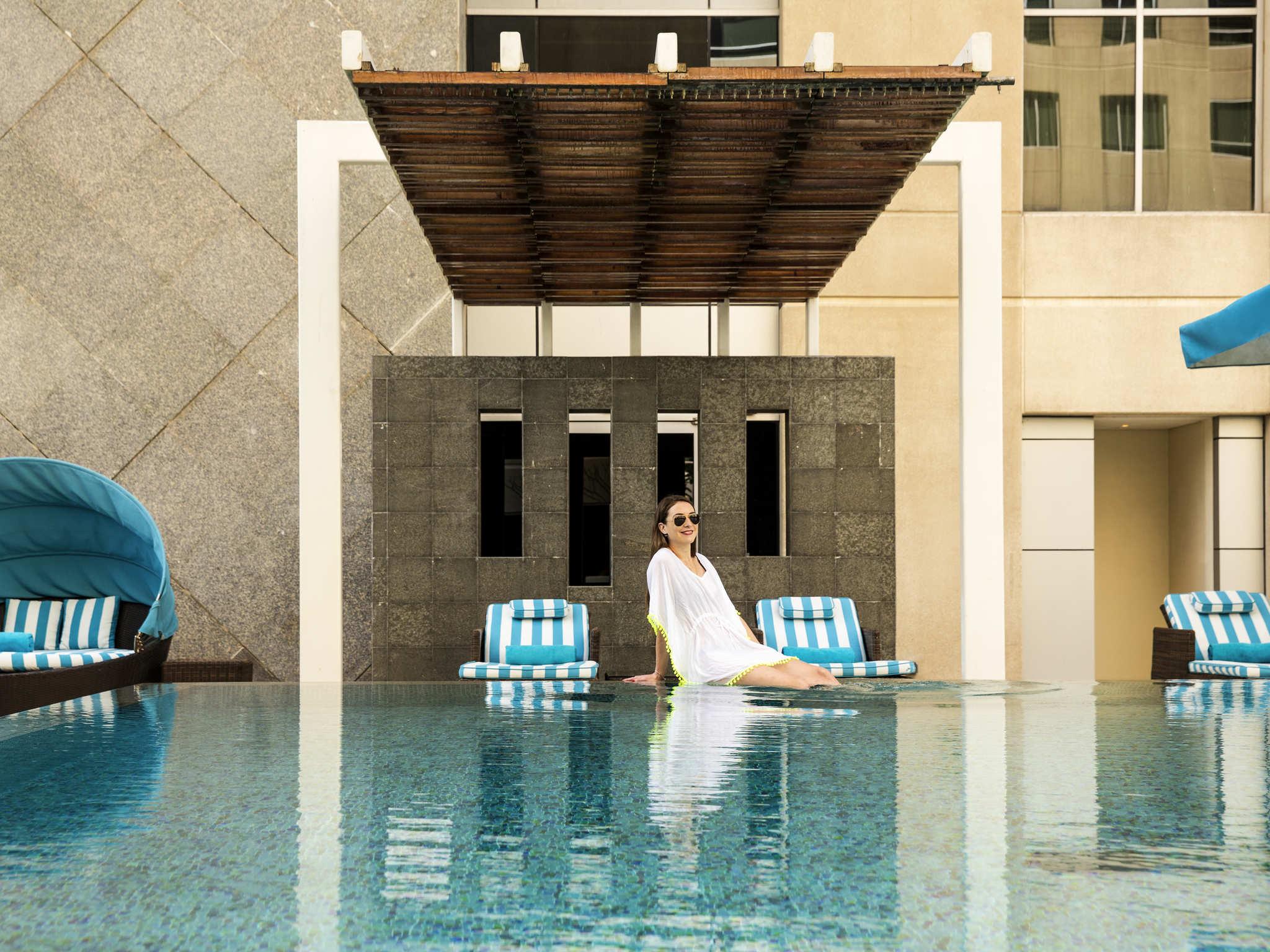 Hotel – Novotel Dubai Deira Centro da Cidade