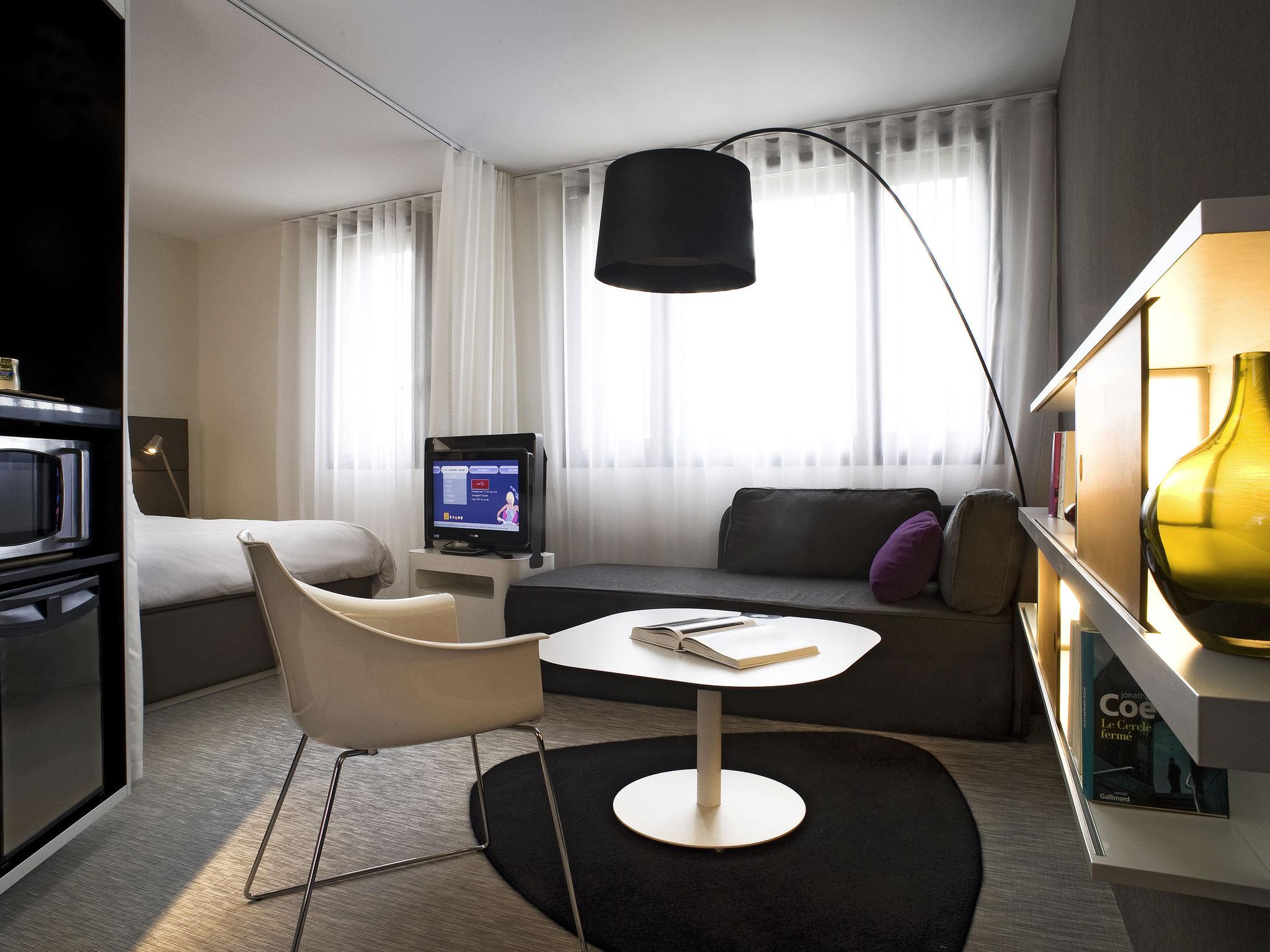 Отель — Novotel Suites Перпиньян Медитерранэ