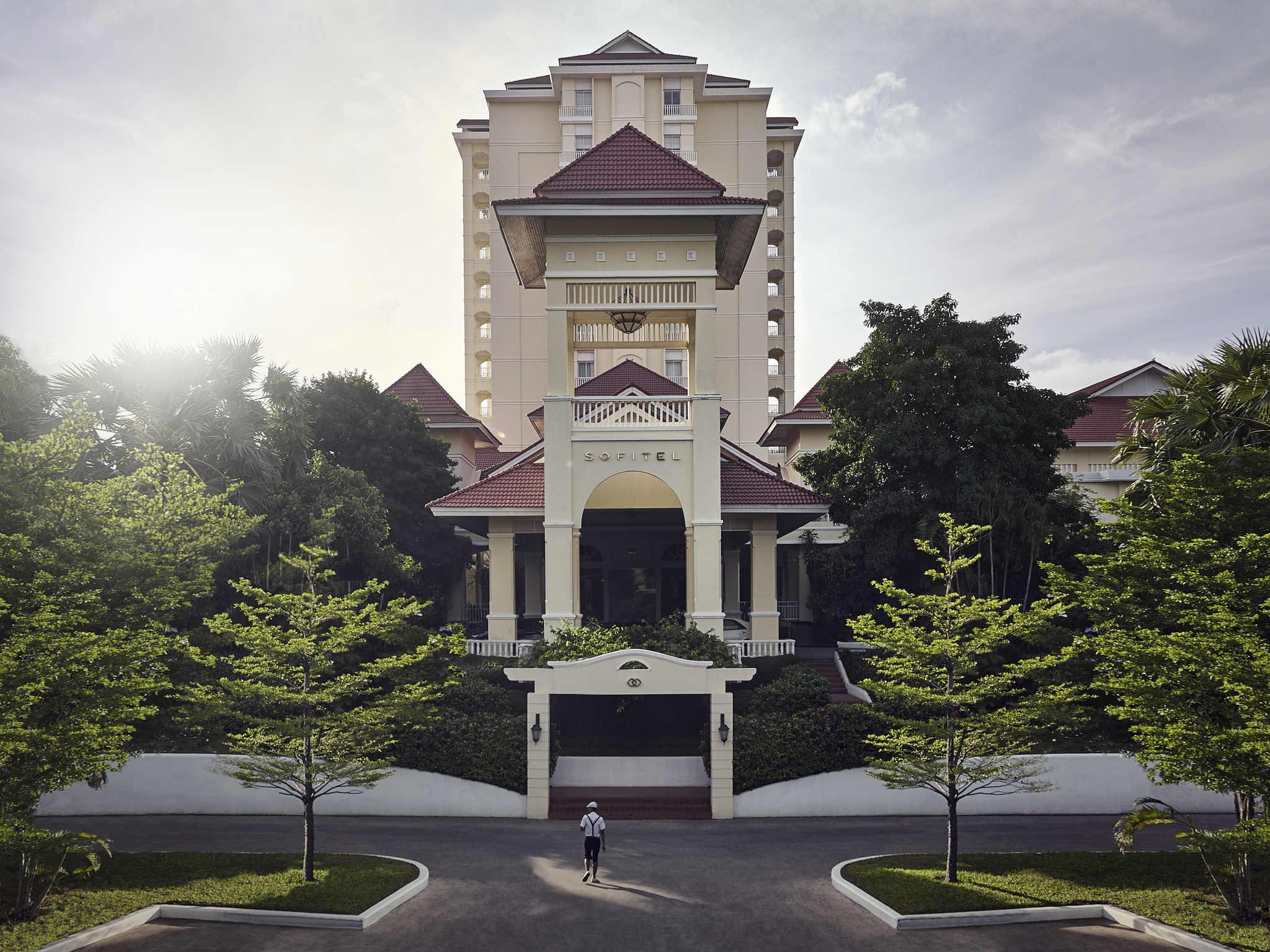 โรงแรม – โซฟิเทล พนมเปญ โภคีธรา