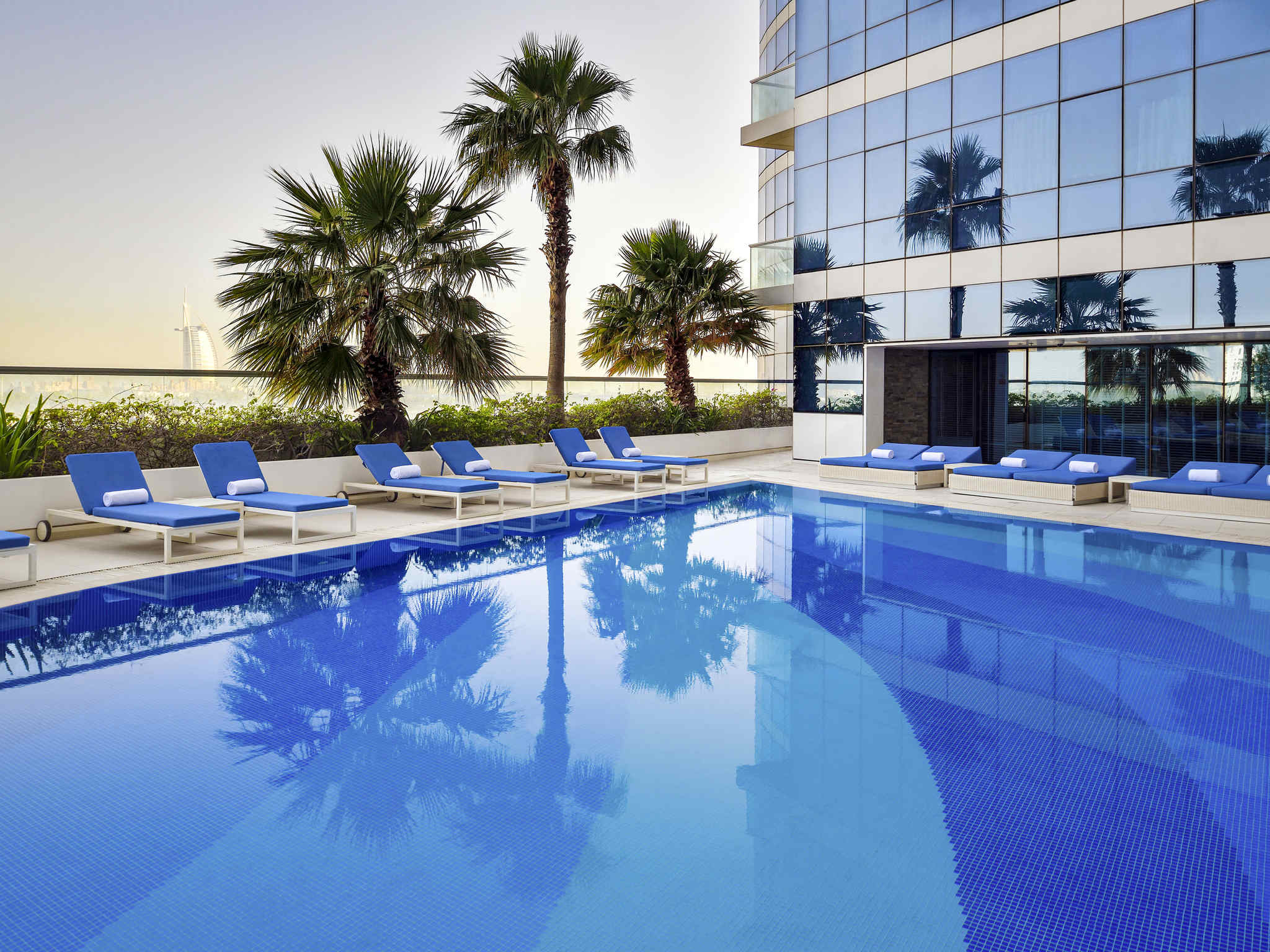 فندق - نوفوتيل Novotel دبي البرشا